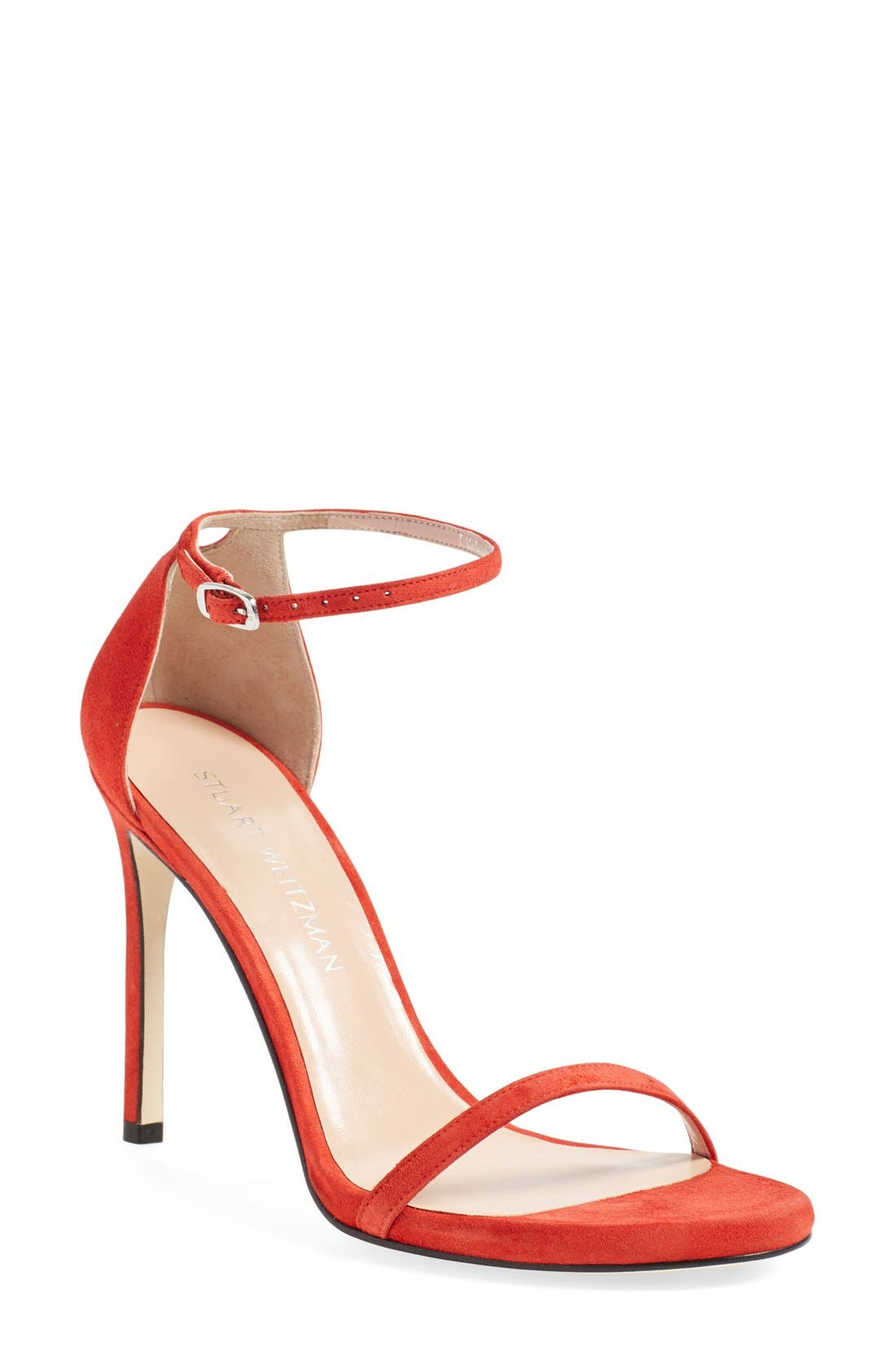 Nudistsong Ankle Strap Sandal,                             Main thumbnail 43, color,