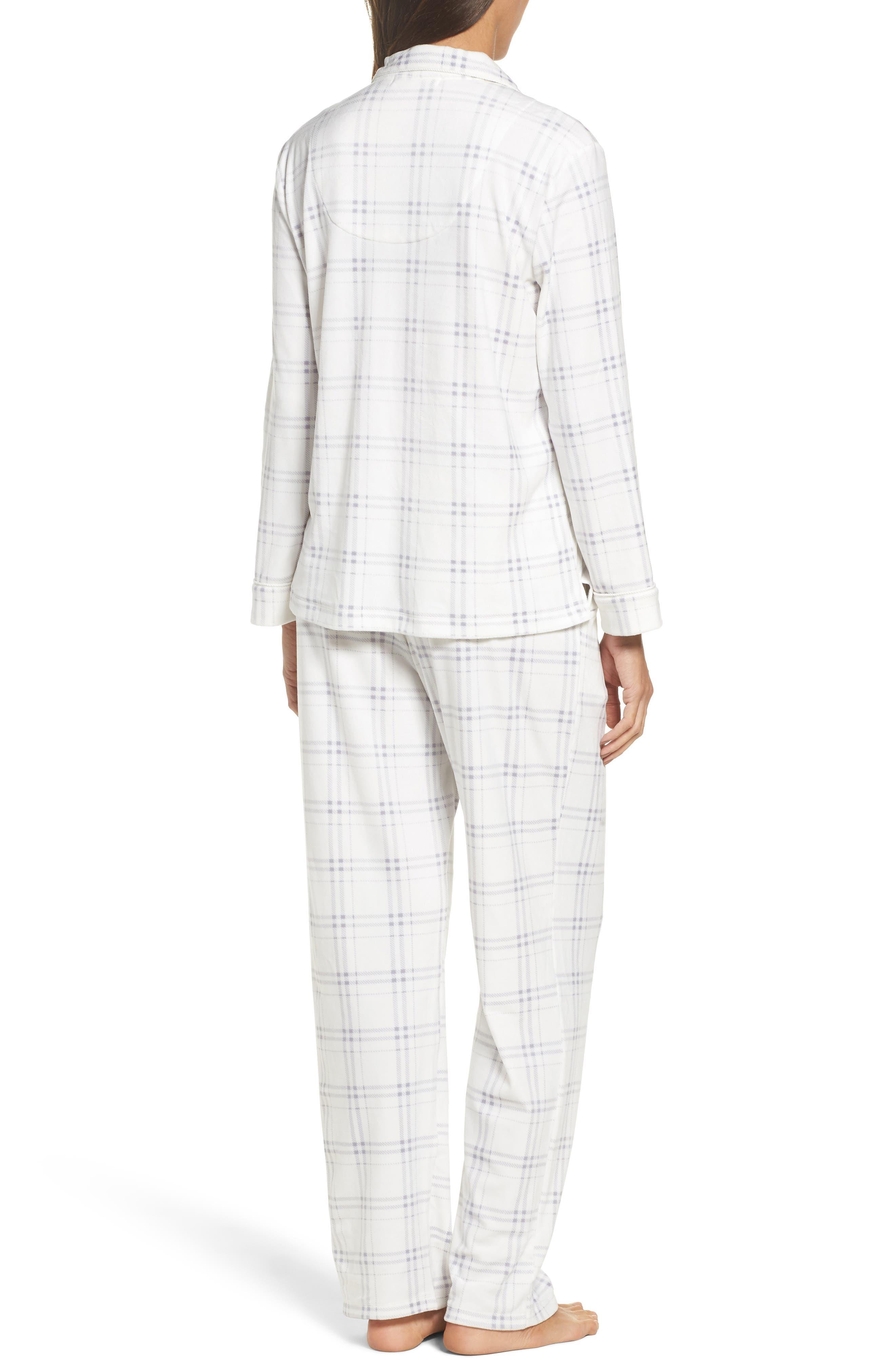 Fleece Pajamas,                             Alternate thumbnail 2, color,                             100
