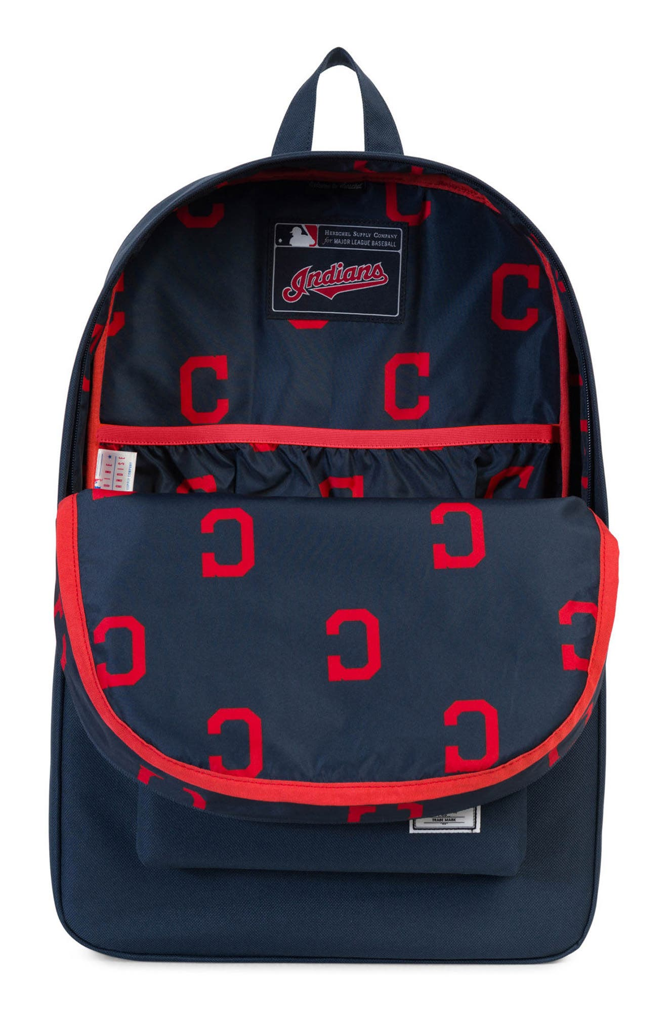 Heritage Cleveland Indians Backpack,                             Alternate thumbnail 3, color,                             469