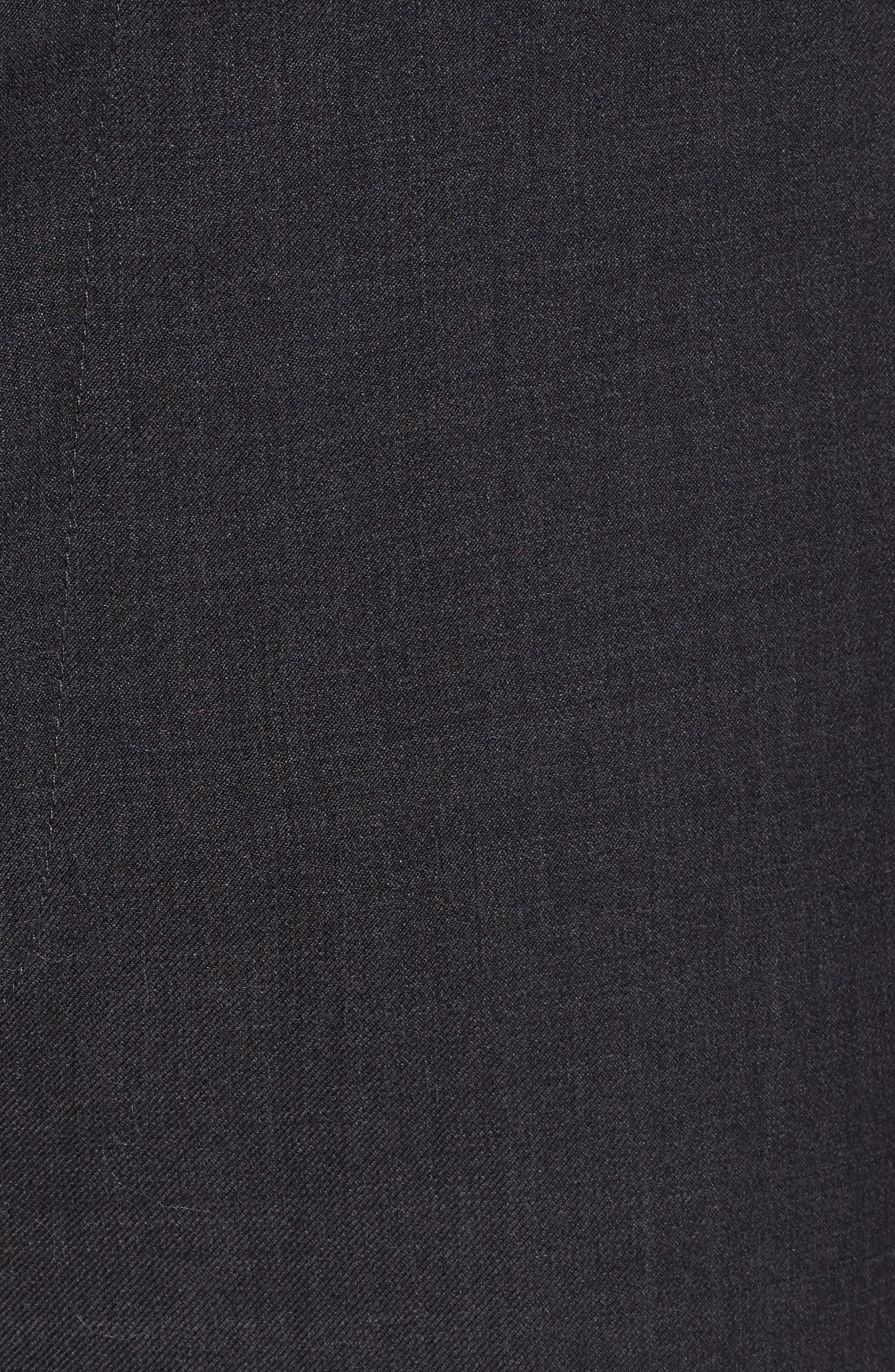 Gab Trim Fit Flat Front Pants,                             Alternate thumbnail 2, color,                             002
