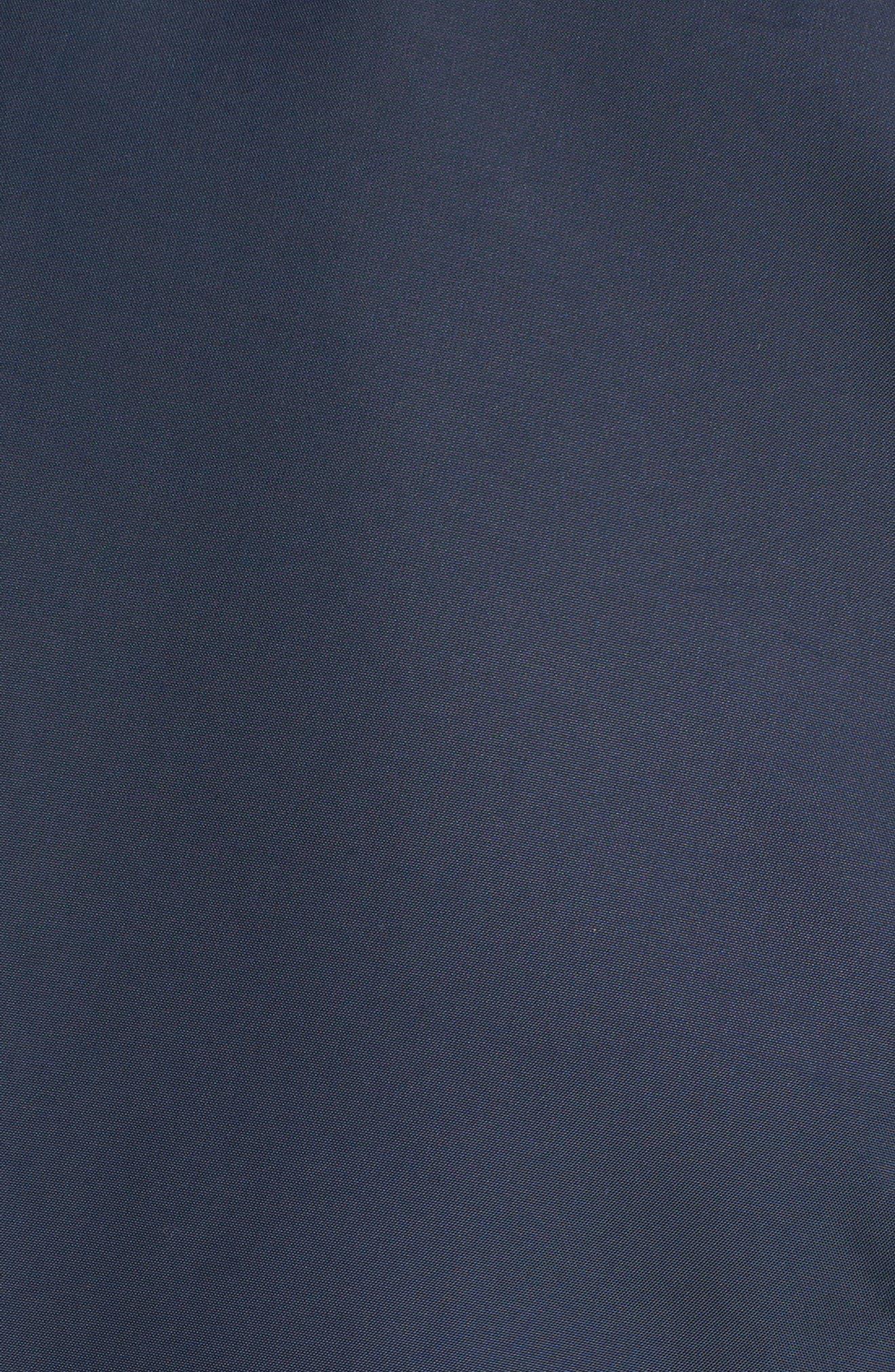Shield Core Zip Golf Jacket,                             Alternate thumbnail 7, color,                             OBSIDIAN/ OBSIDIAN/ BLACK