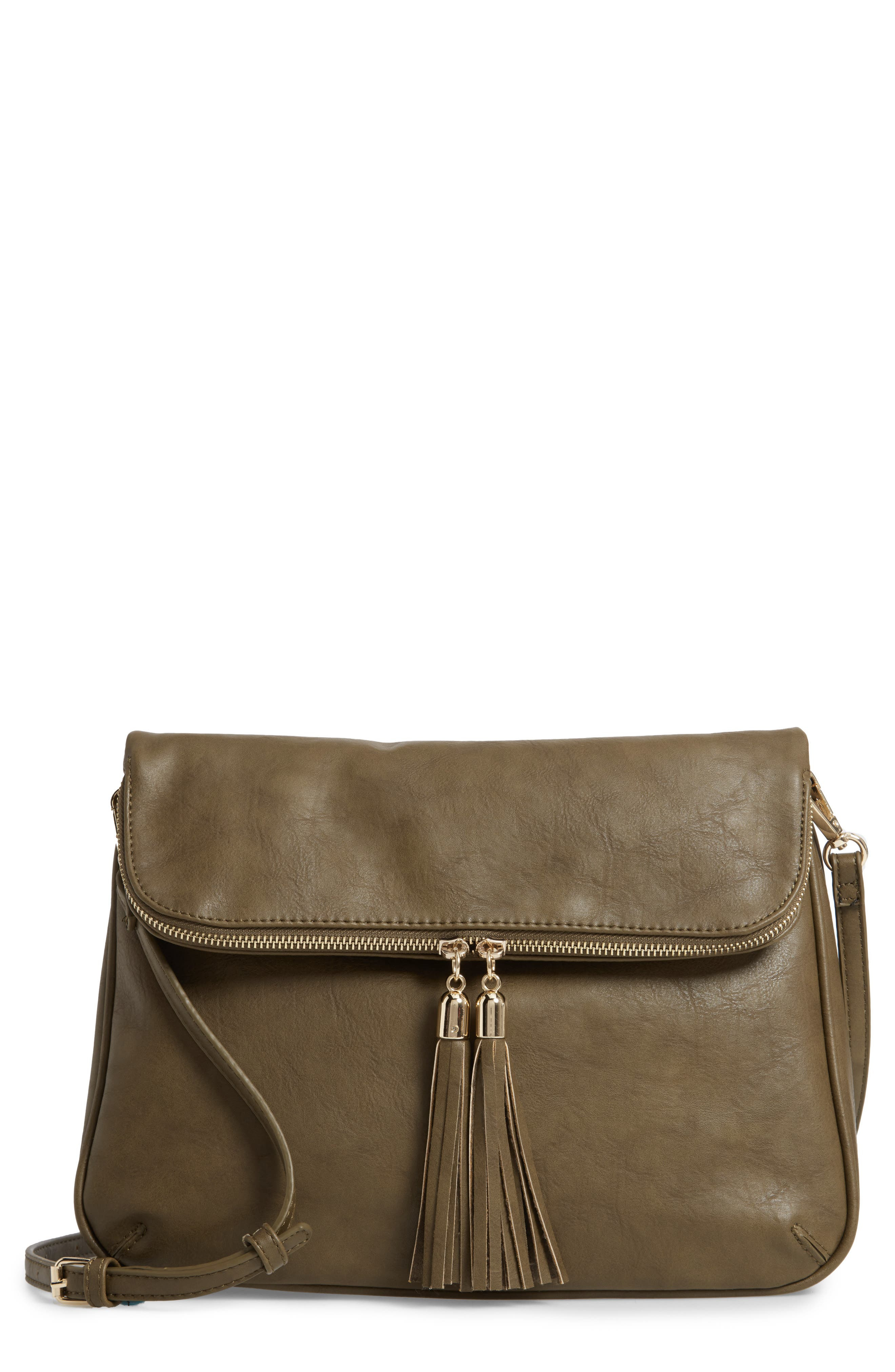 Foldover Crossbody Bag,                             Main thumbnail 1, color,                             320