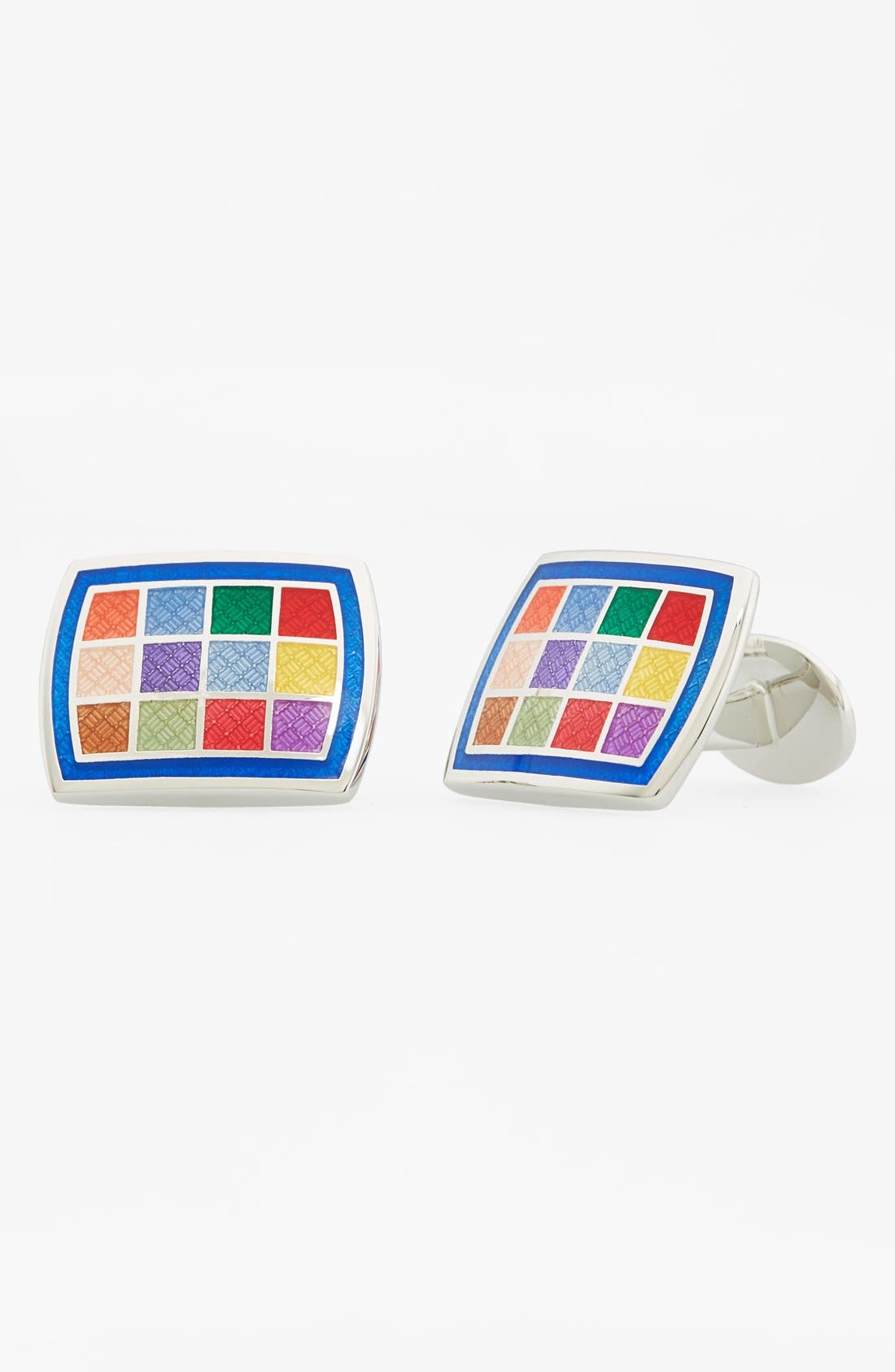 Sterling Silver Cuff Links,                         Main,                         color, 040