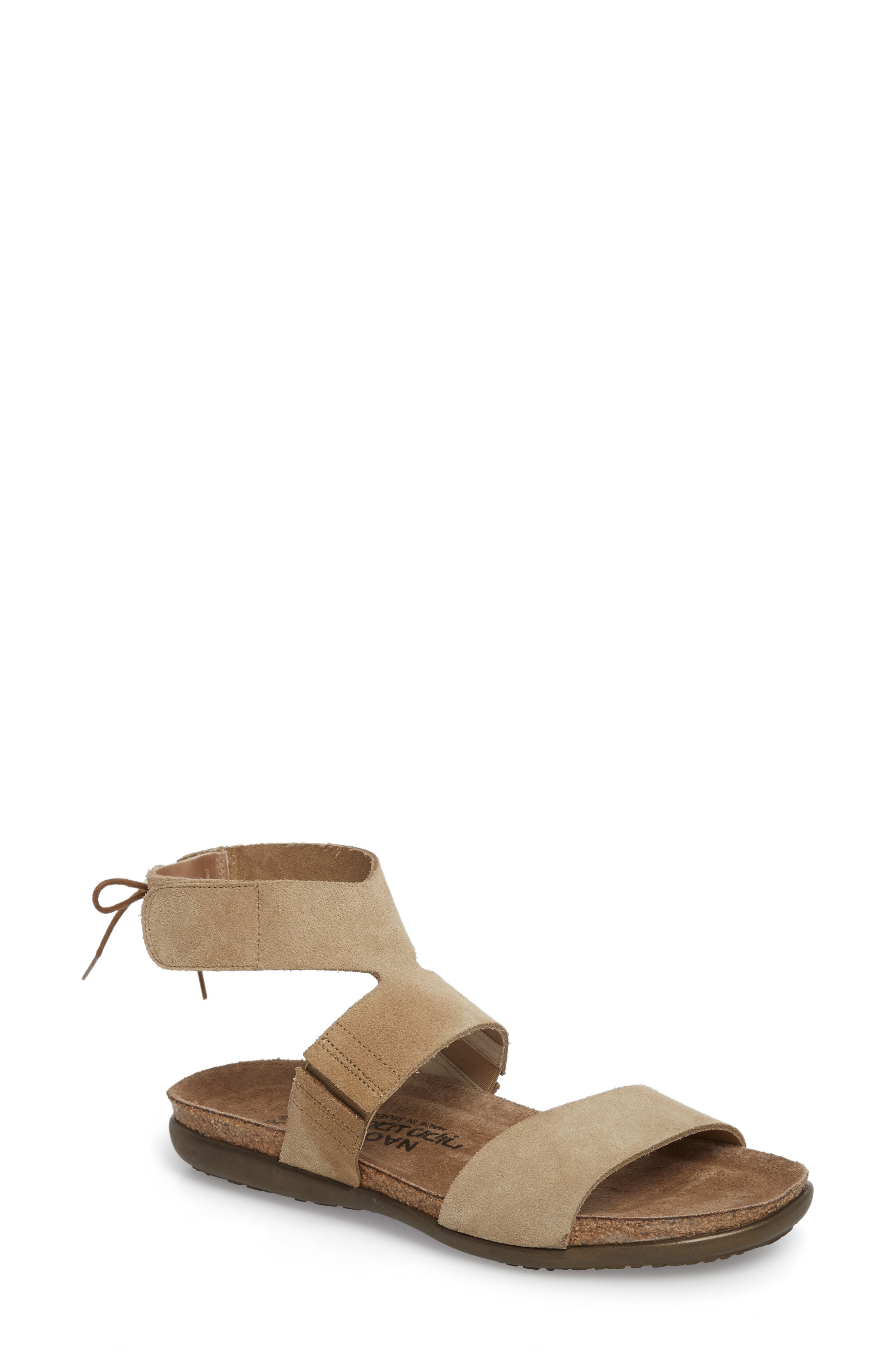 Larissa Ankle Strap Sandal,                             Main thumbnail 3, color,
