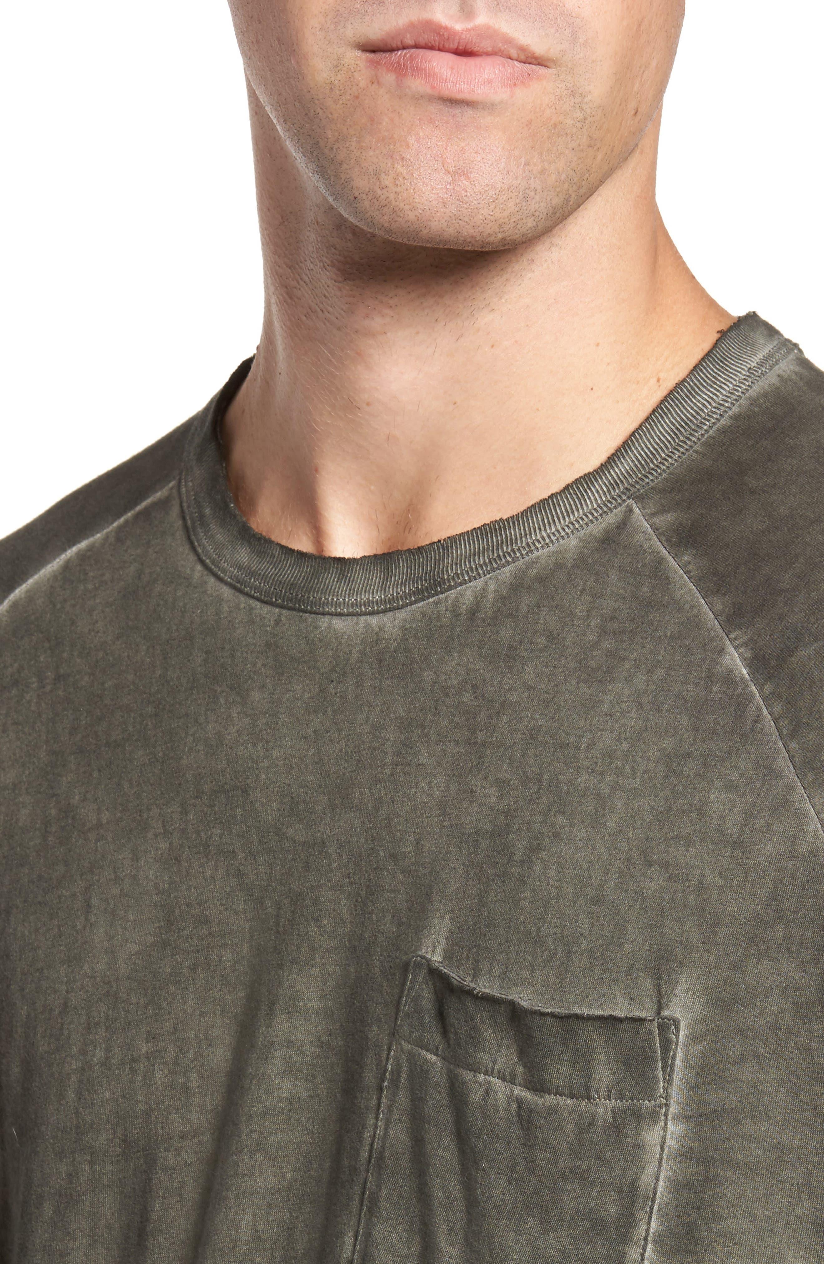 Pigment Dye Longline T-Shirt,                             Alternate thumbnail 8, color,
