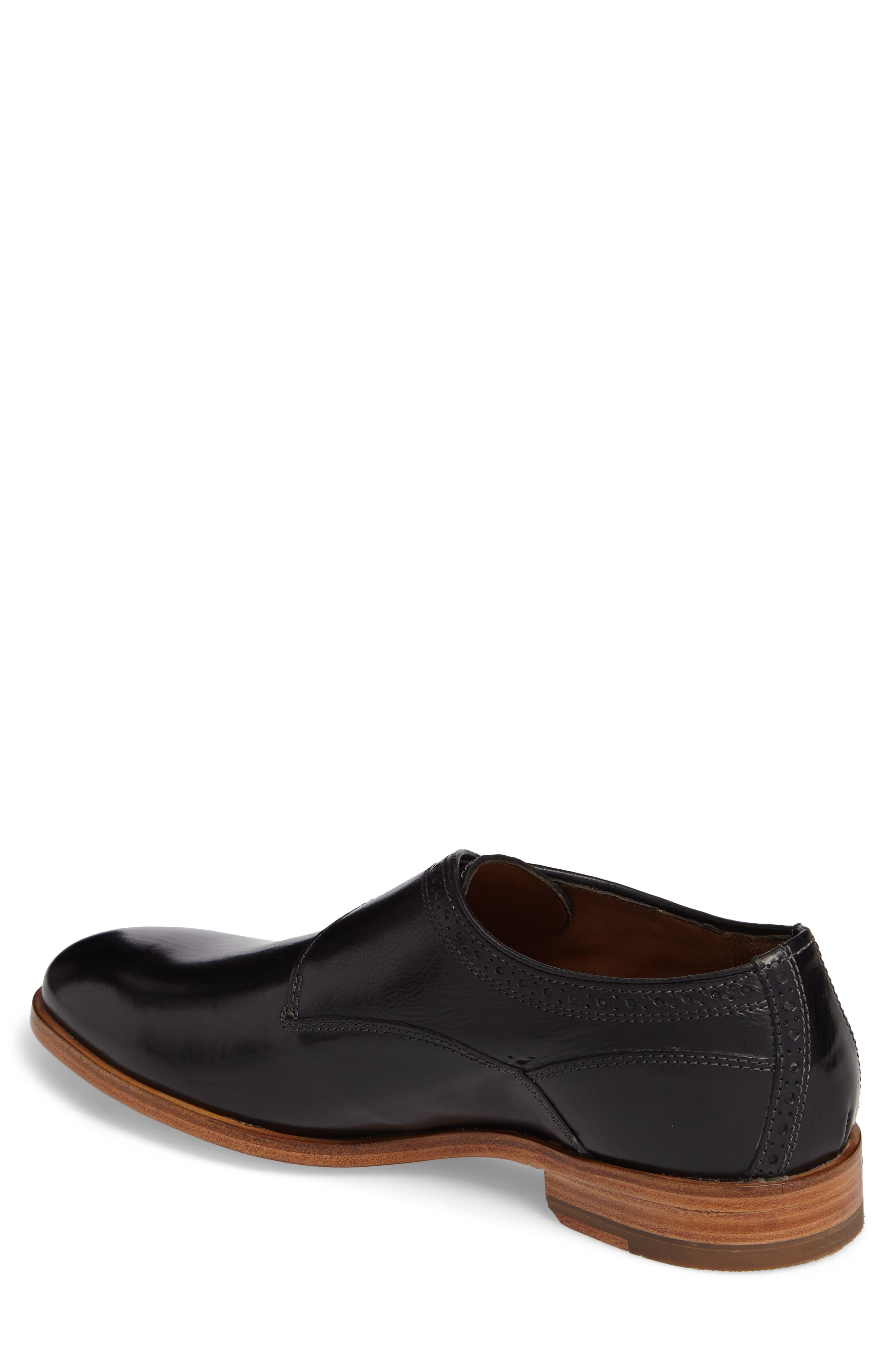 Graham Monk Strap Shoe,                             Alternate thumbnail 2, color,                             001
