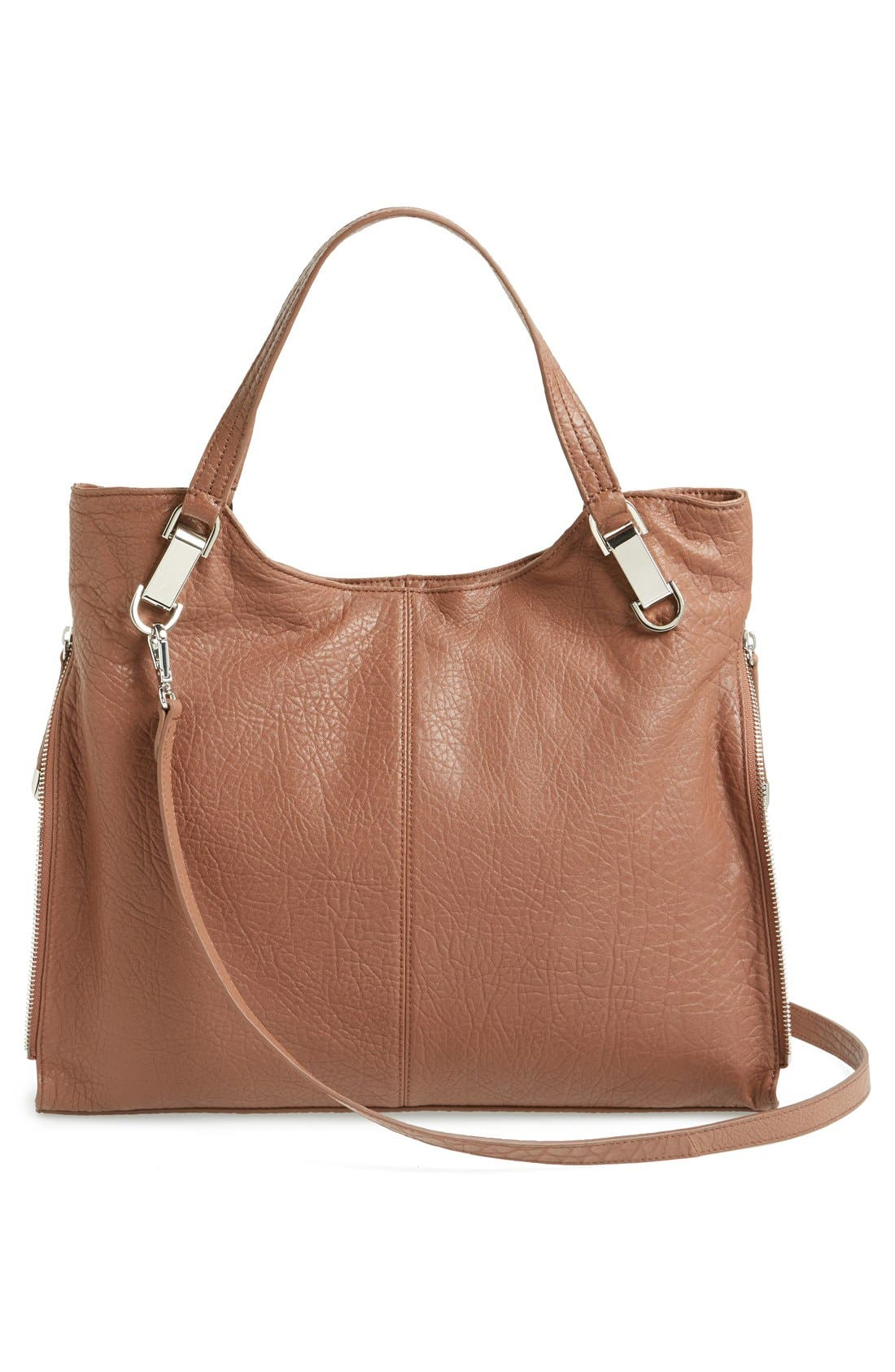 'Riley' Leather Tote,                             Alternate thumbnail 57, color,