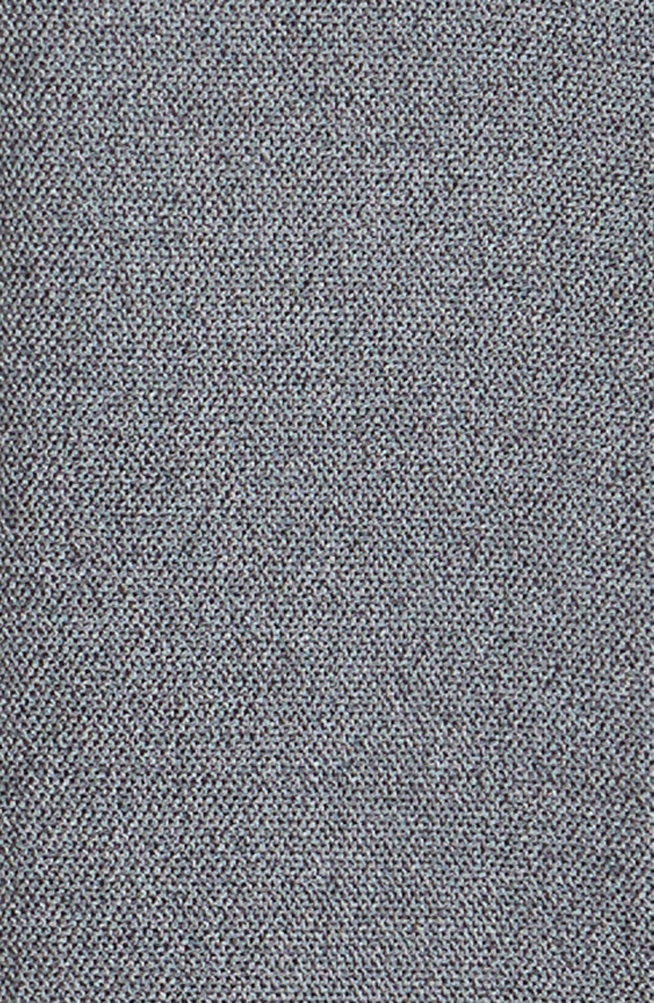 Unbutton Slim Fit Sport Shirt,                             Alternate thumbnail 6, color,                             JASPE TEXTURE - STERLING