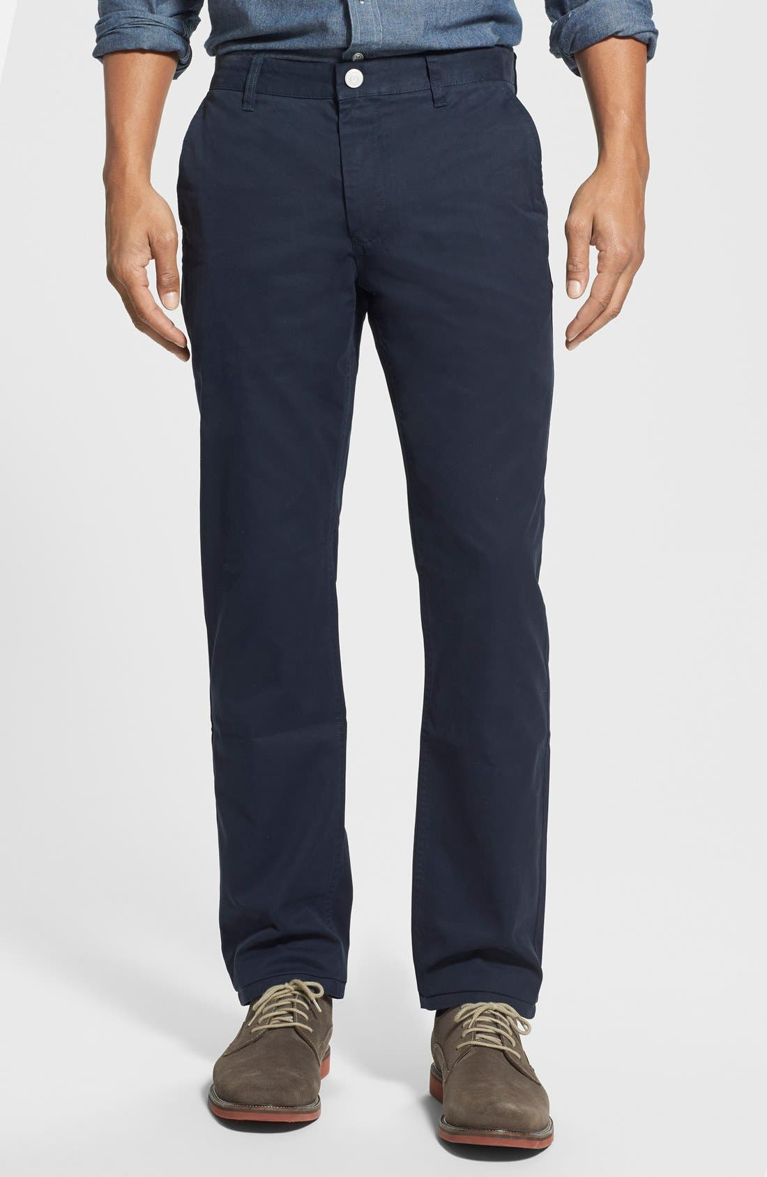 Slim Fit Washed Chinos,                         Main,                         color, 400