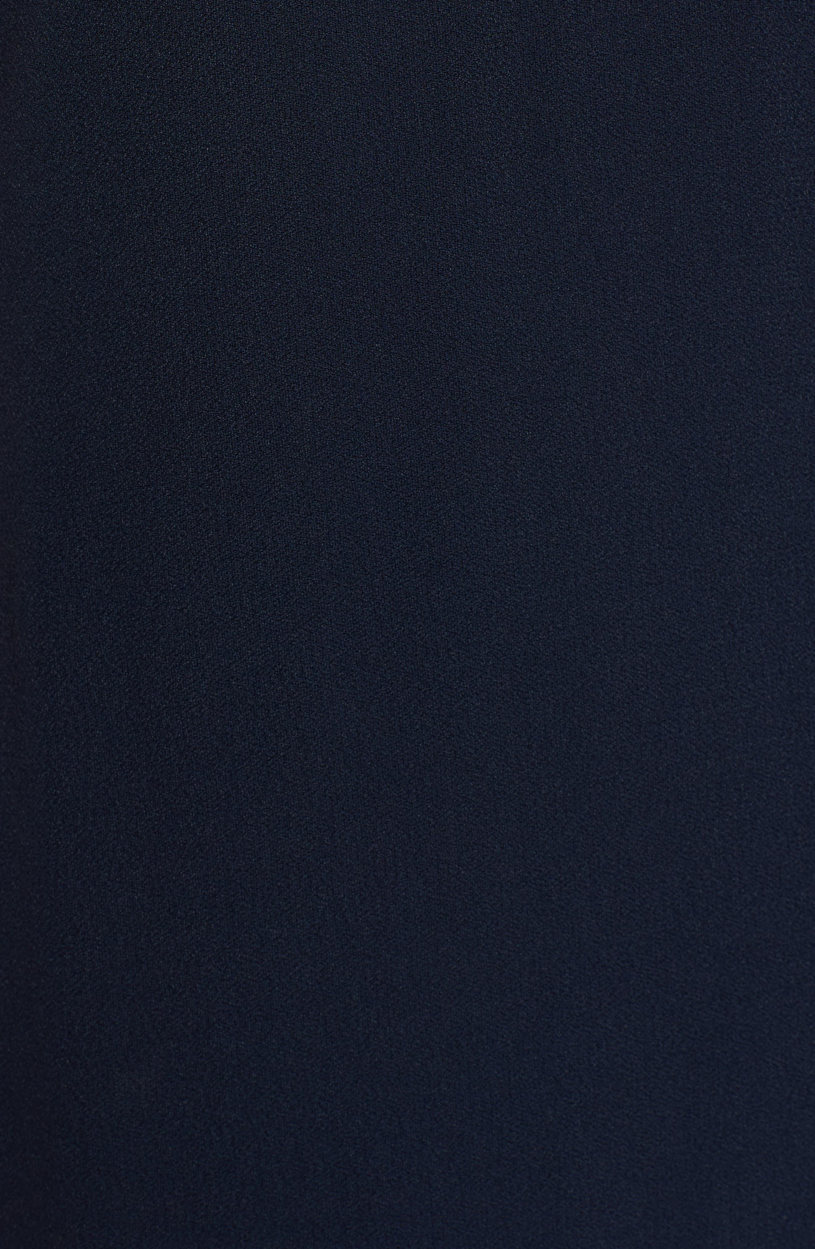 Haminka Lace Trim Shift Dress,                             Alternate thumbnail 5, color,                             480