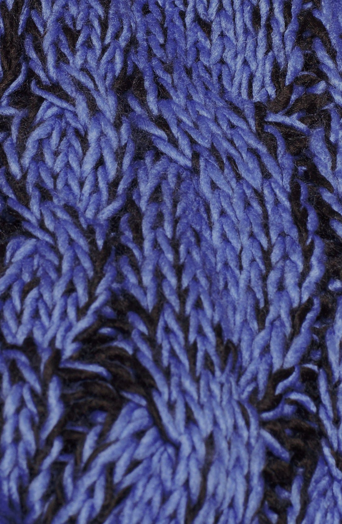 Cable Knit Infinity Scarf,                             Alternate thumbnail 2, color,                             001