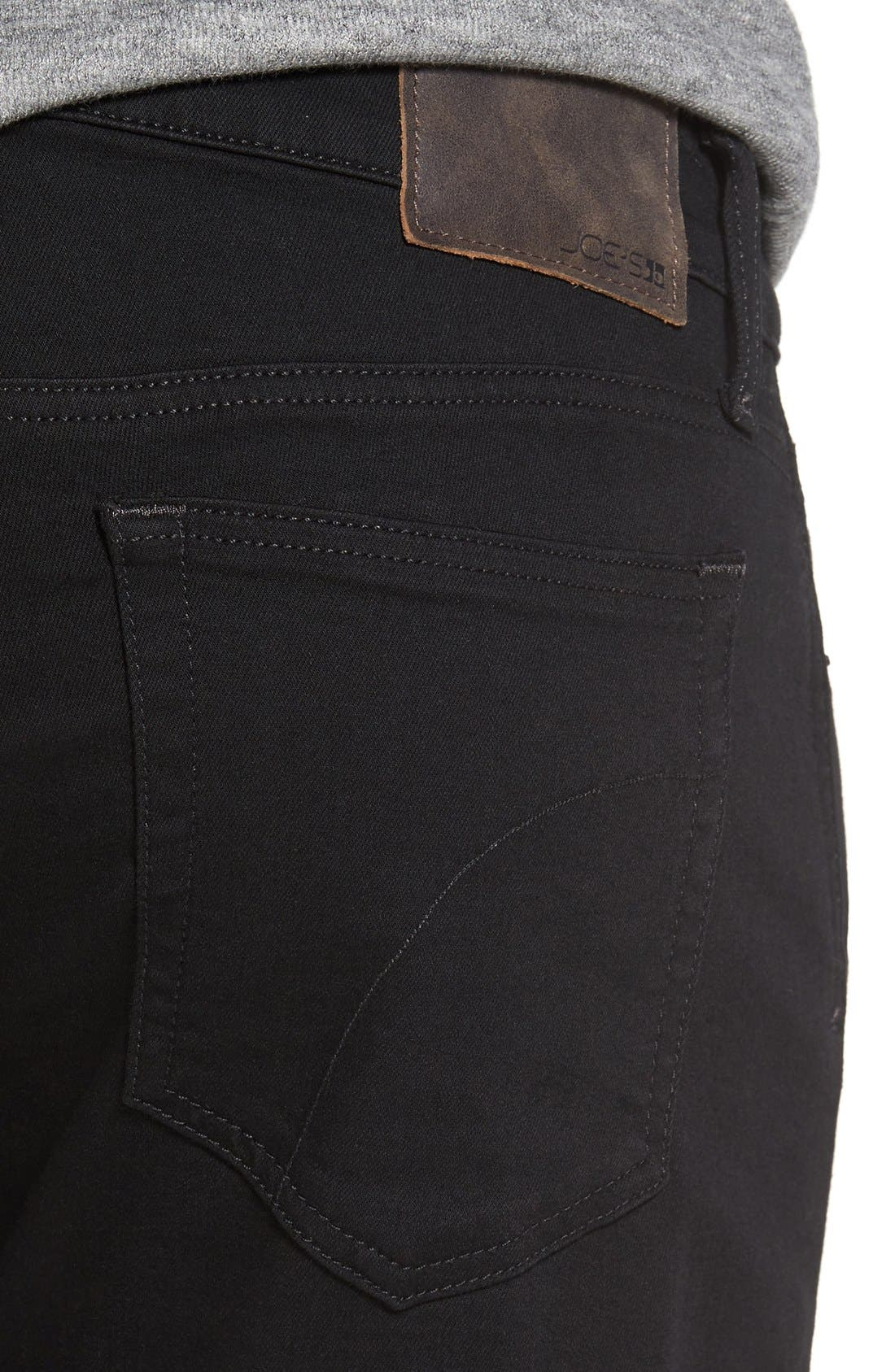 Brixton Kinetic Slim Straight Fit Jeans,                             Alternate thumbnail 5, color,                             001