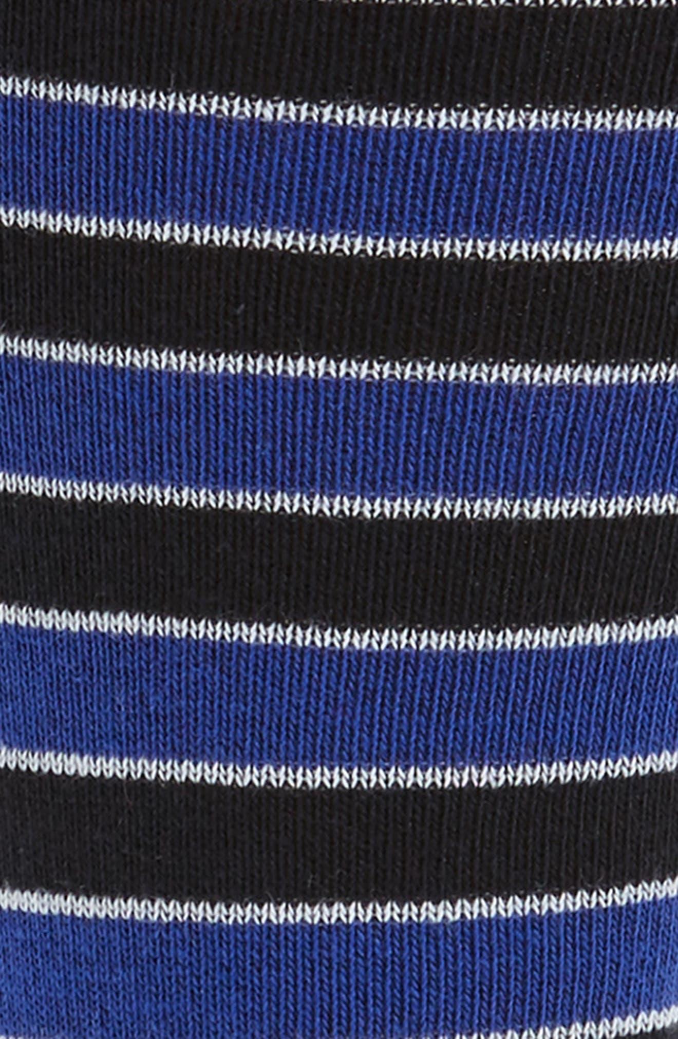 Rousse Stripe Socks,                             Alternate thumbnail 2, color,                             001
