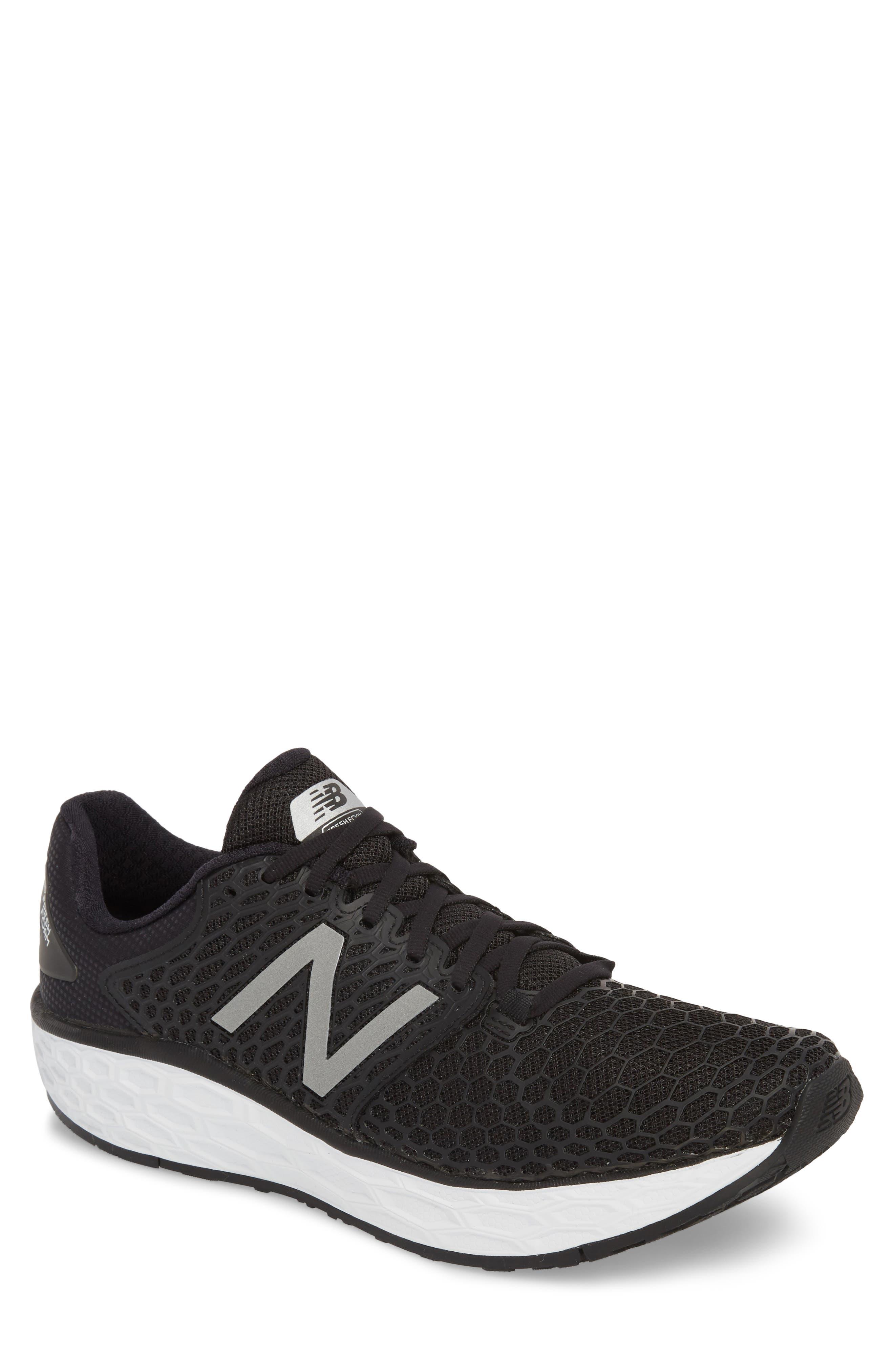 Fresh Foam Vongo v3 Running Shoe,                         Main,                         color, BLACK