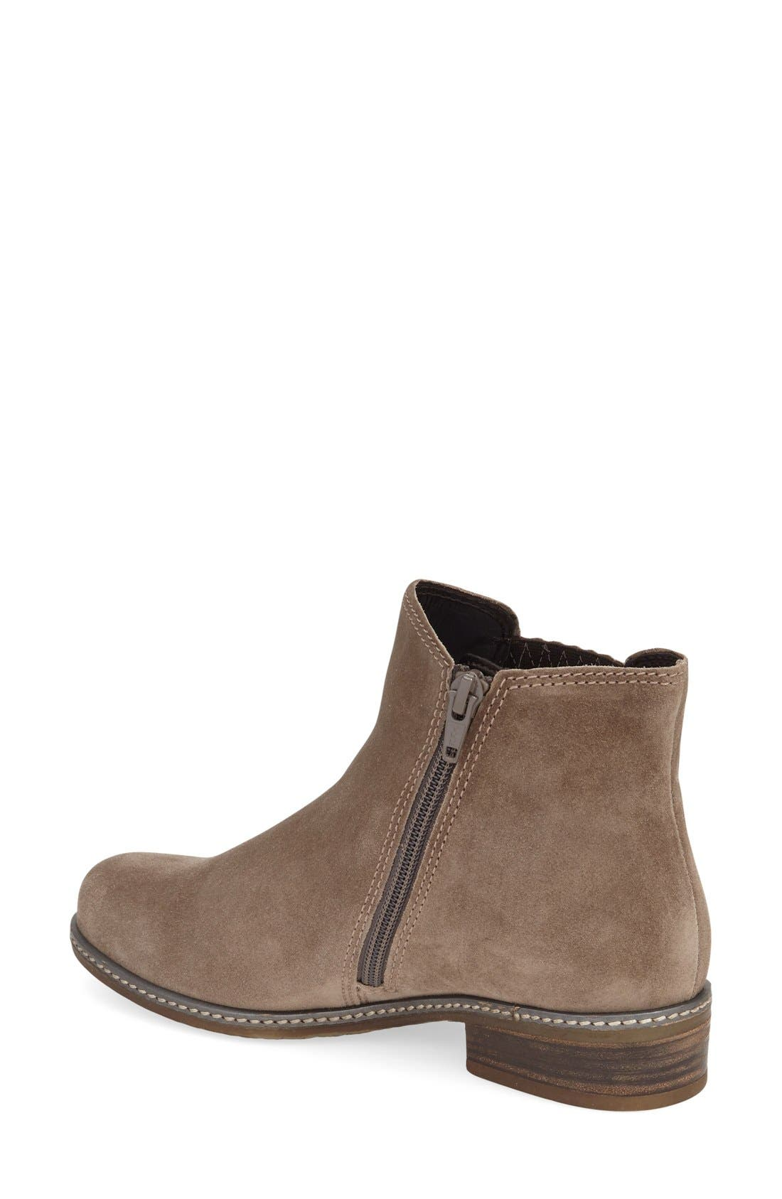 Chelsea Boot,                             Alternate thumbnail 2, color,                             GREY LEATHER