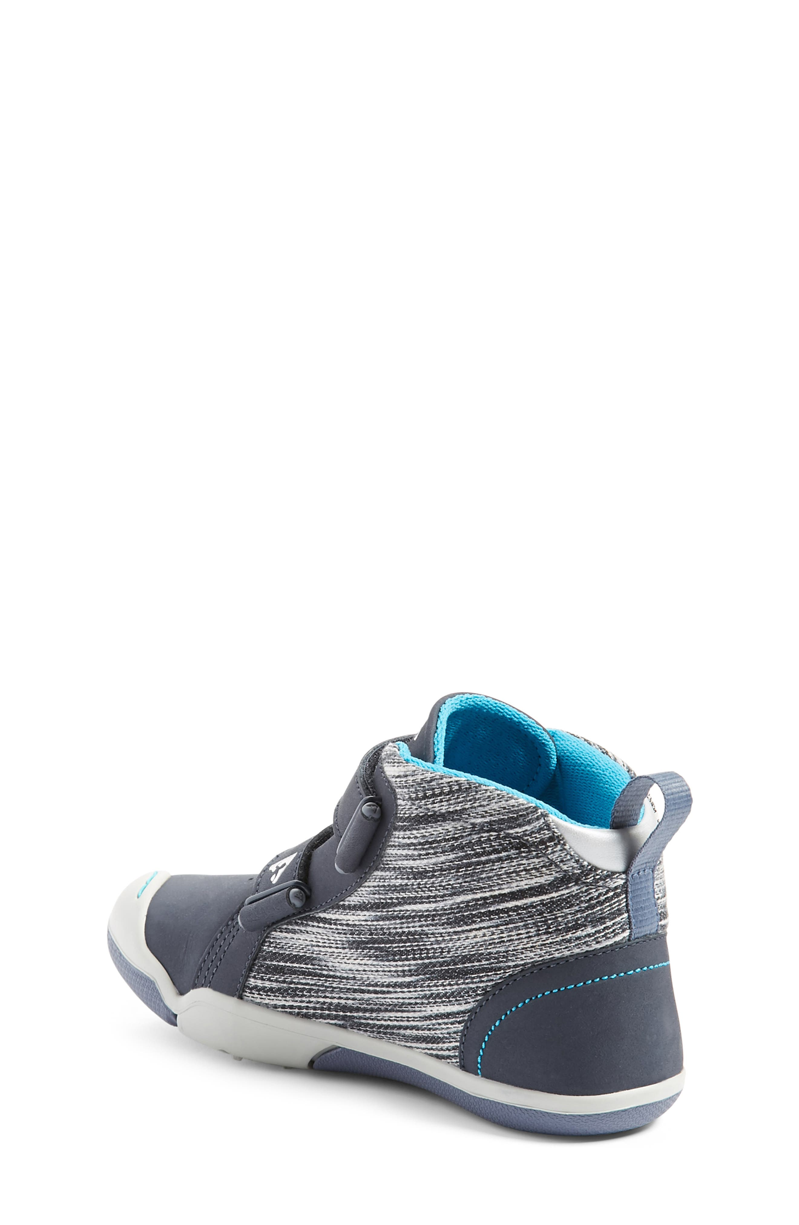 Max Customizable High Top Sneaker,                             Alternate thumbnail 2, color,                             LEATHER WIND