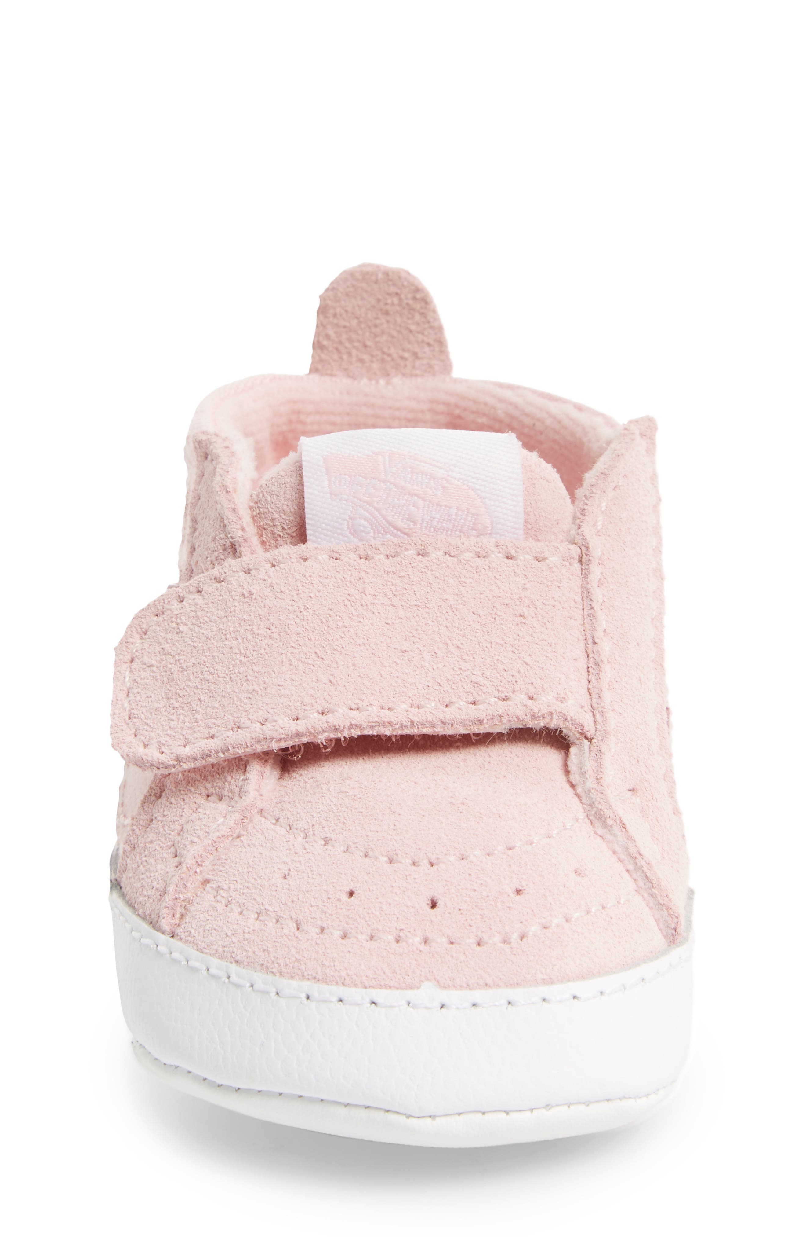 SK8-Hi Crib Sneaker,                             Alternate thumbnail 4, color,