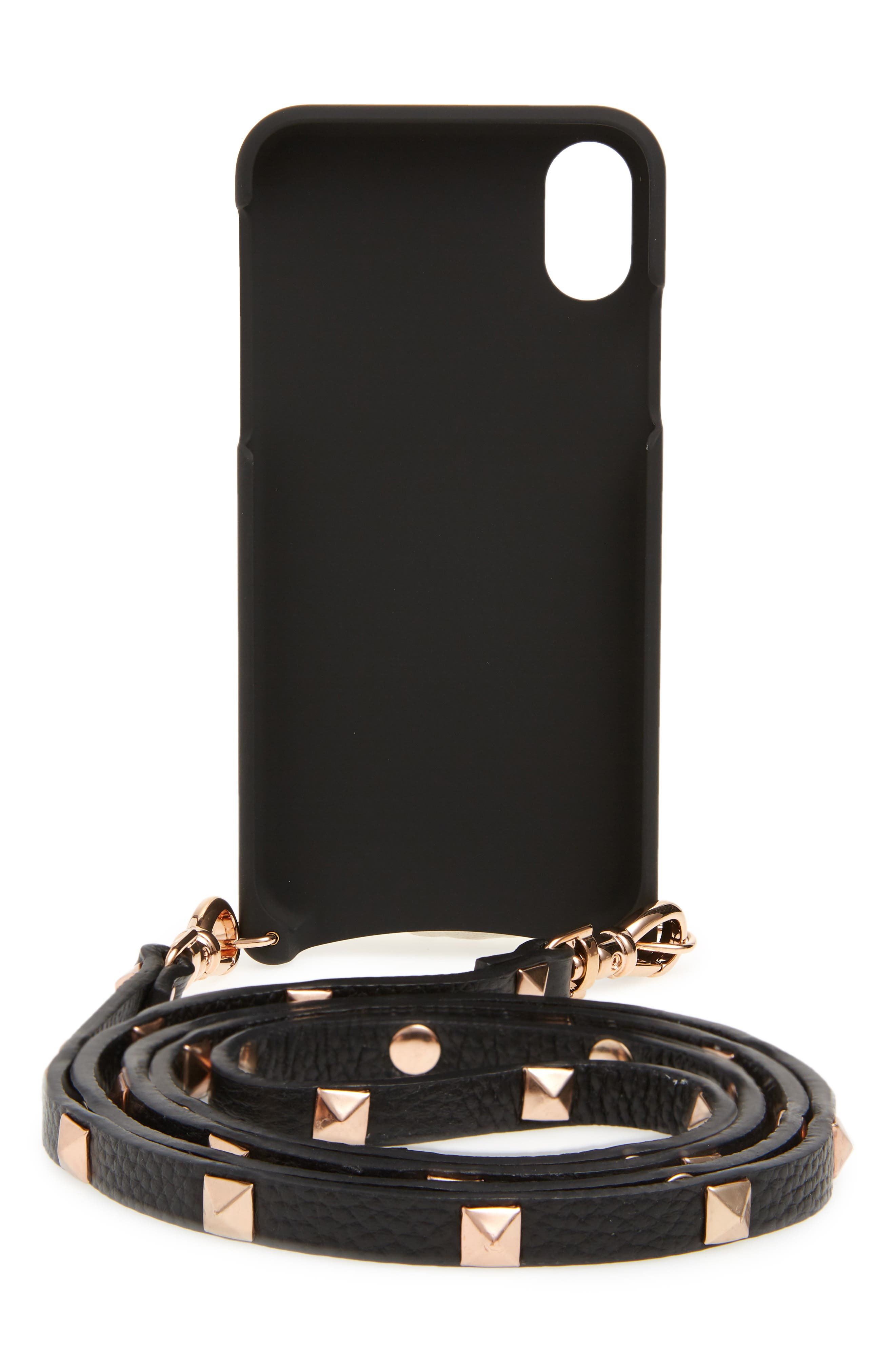 Sarah iPhone X & Xs Crossbody Case,                             Alternate thumbnail 3, color,