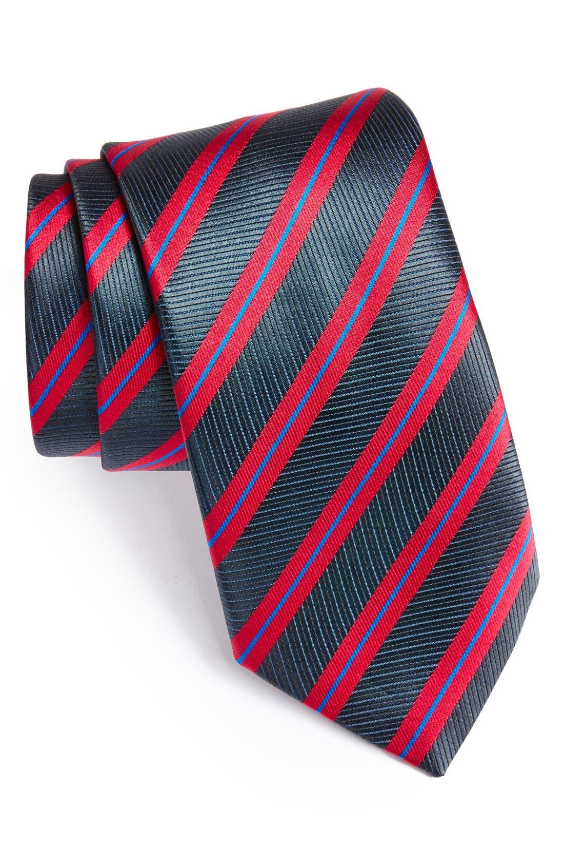 Woven Silk Tie,                             Main thumbnail 1, color,                             020