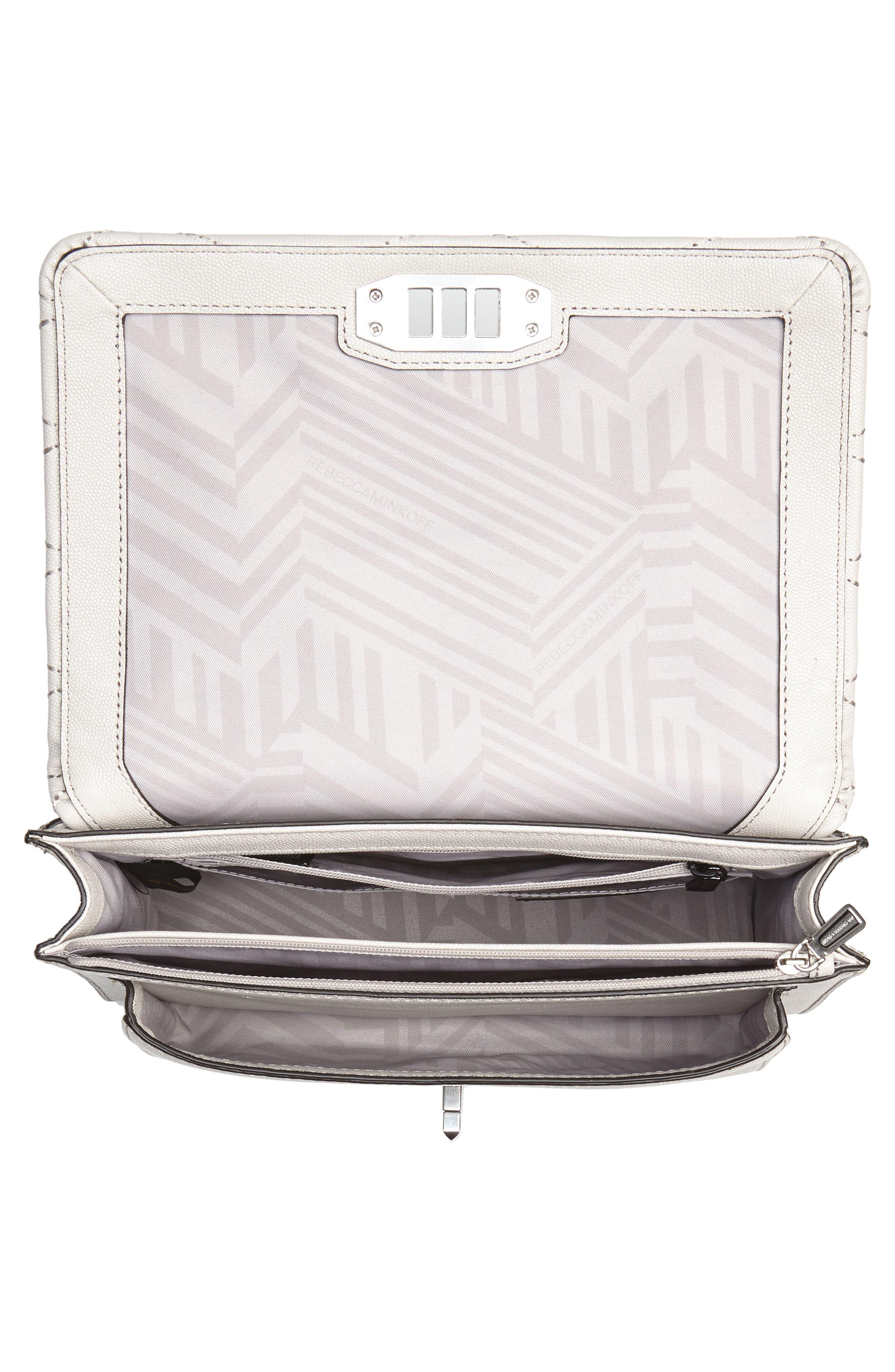 Medium Je T'aime Convertible Leather Crossbody Bag,                             Alternate thumbnail 32, color,