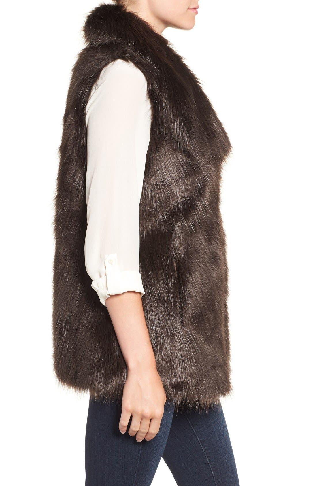 Faux Fur Vest,                             Alternate thumbnail 12, color,