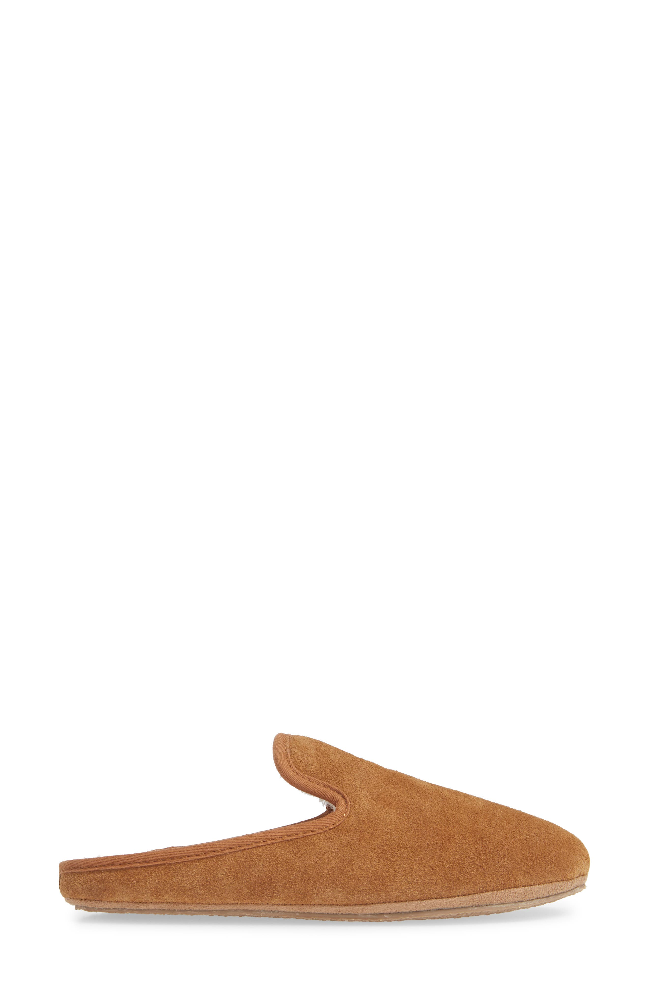 The Loafer Scuff Slipper,                             Alternate thumbnail 3, color,                             TIMBER BEAM