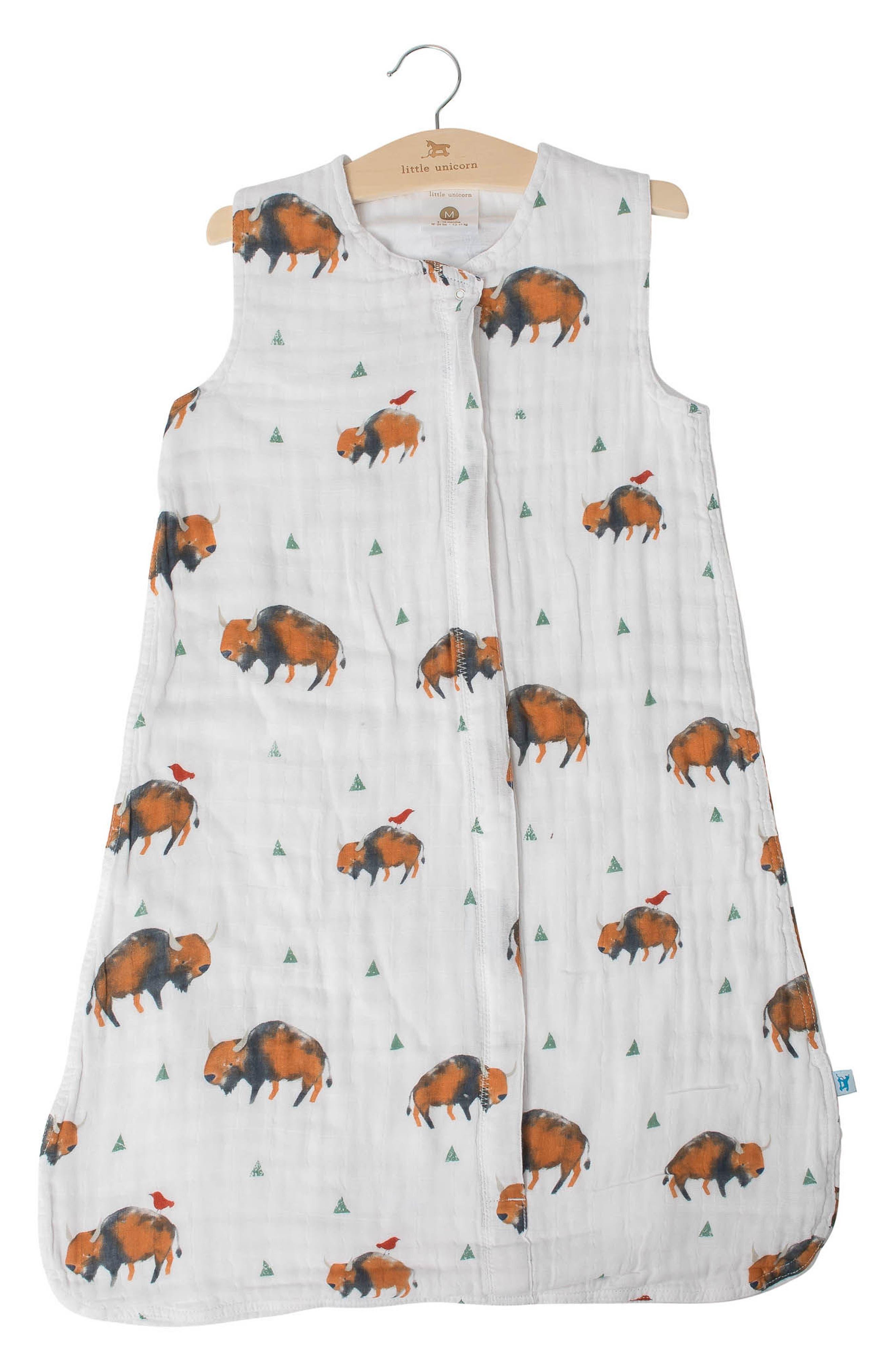Cotton Muslin Wearable Blanket,                             Main thumbnail 1, color,                             200