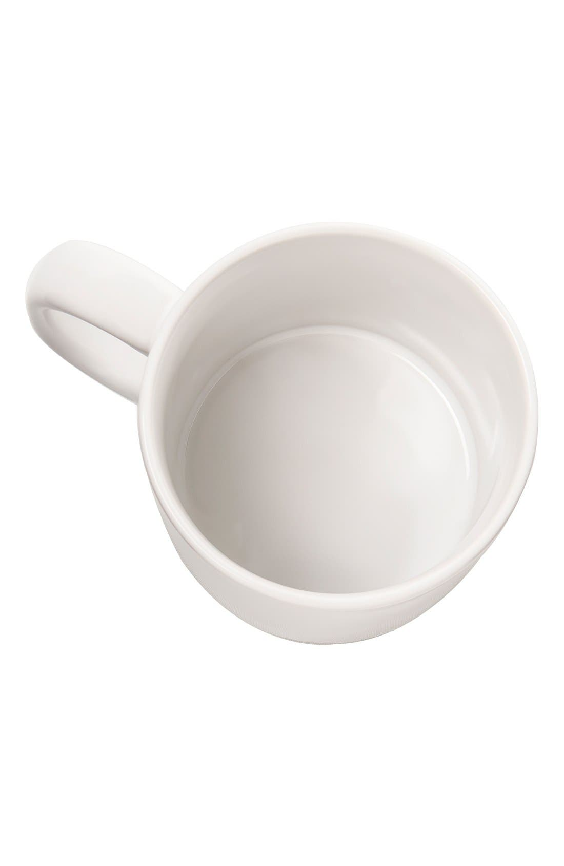 'Bacon & Eggs' Ceramic Coffee Mugs,                             Alternate thumbnail 4, color,                             100