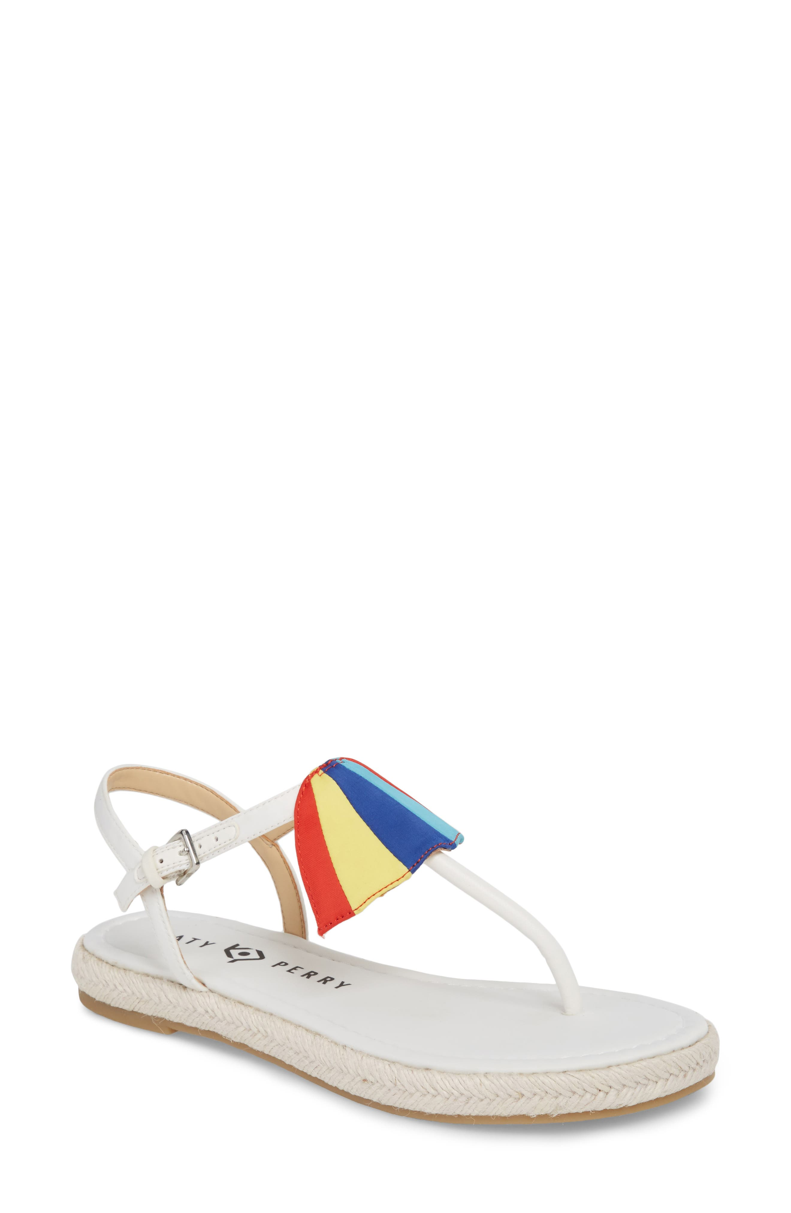 The Shay Espadrille Sandal,                         Main,                         color, WHITE FABRIC