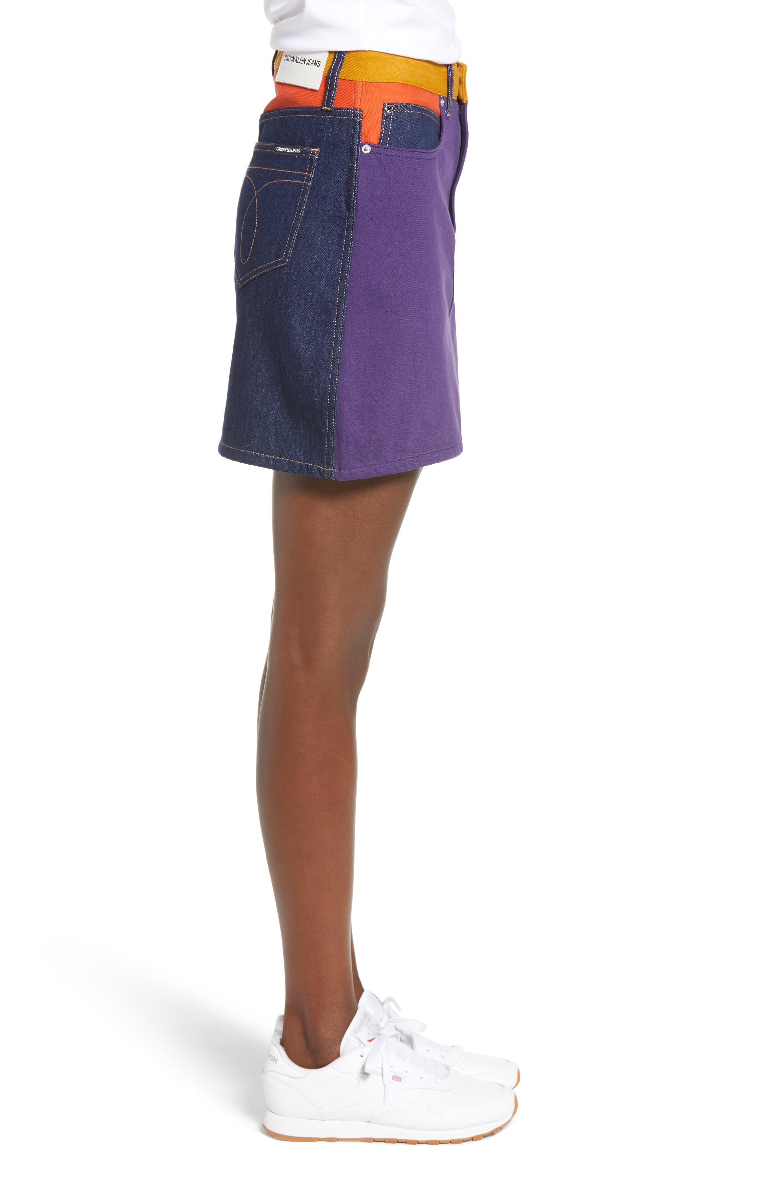 HR Miniskirt,                             Alternate thumbnail 3, color,                             UKELELY PATCH
