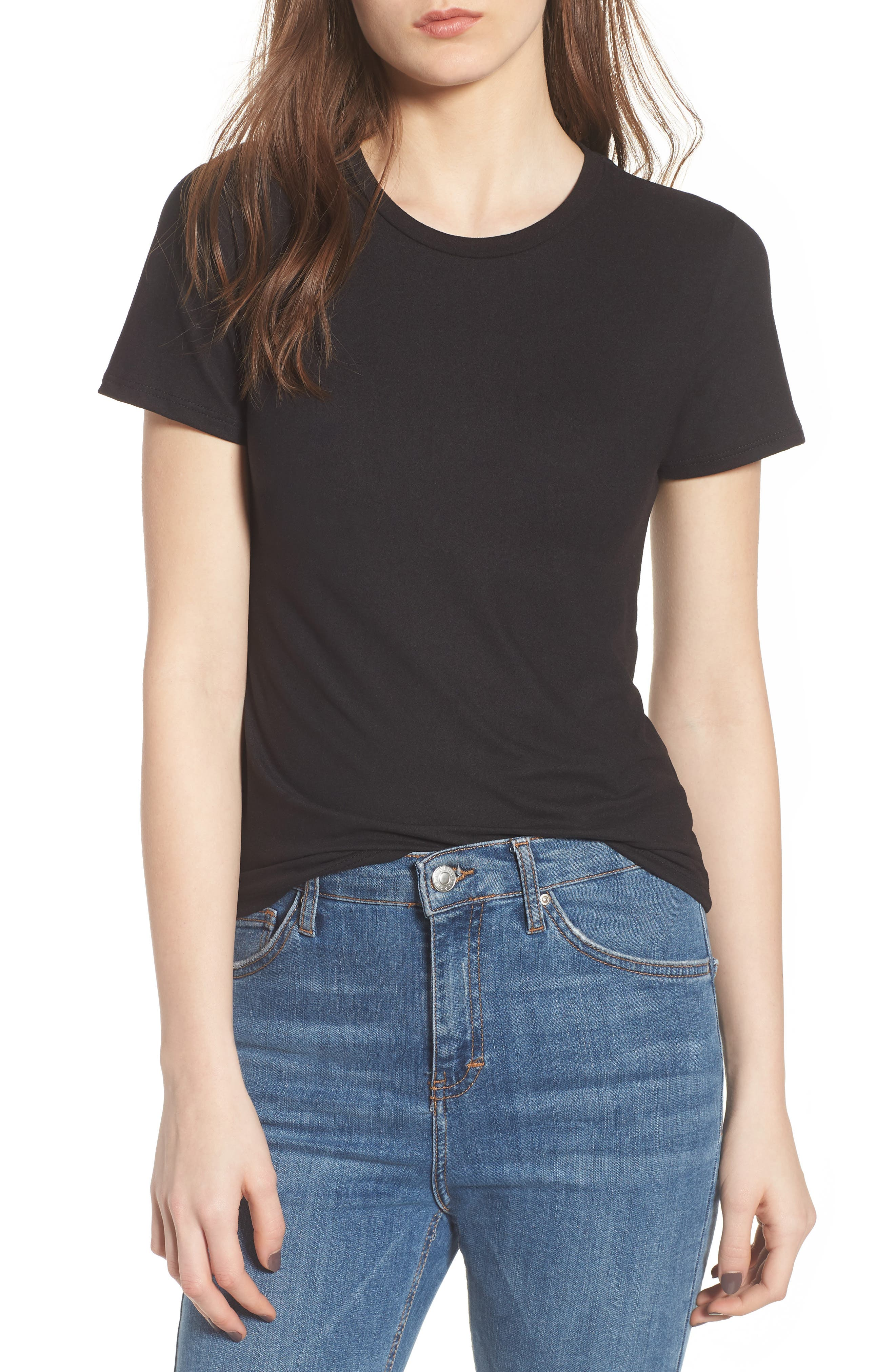 PROJECT SOCIAL T PST by Project Social T Fitted Tee, Main, color, 001