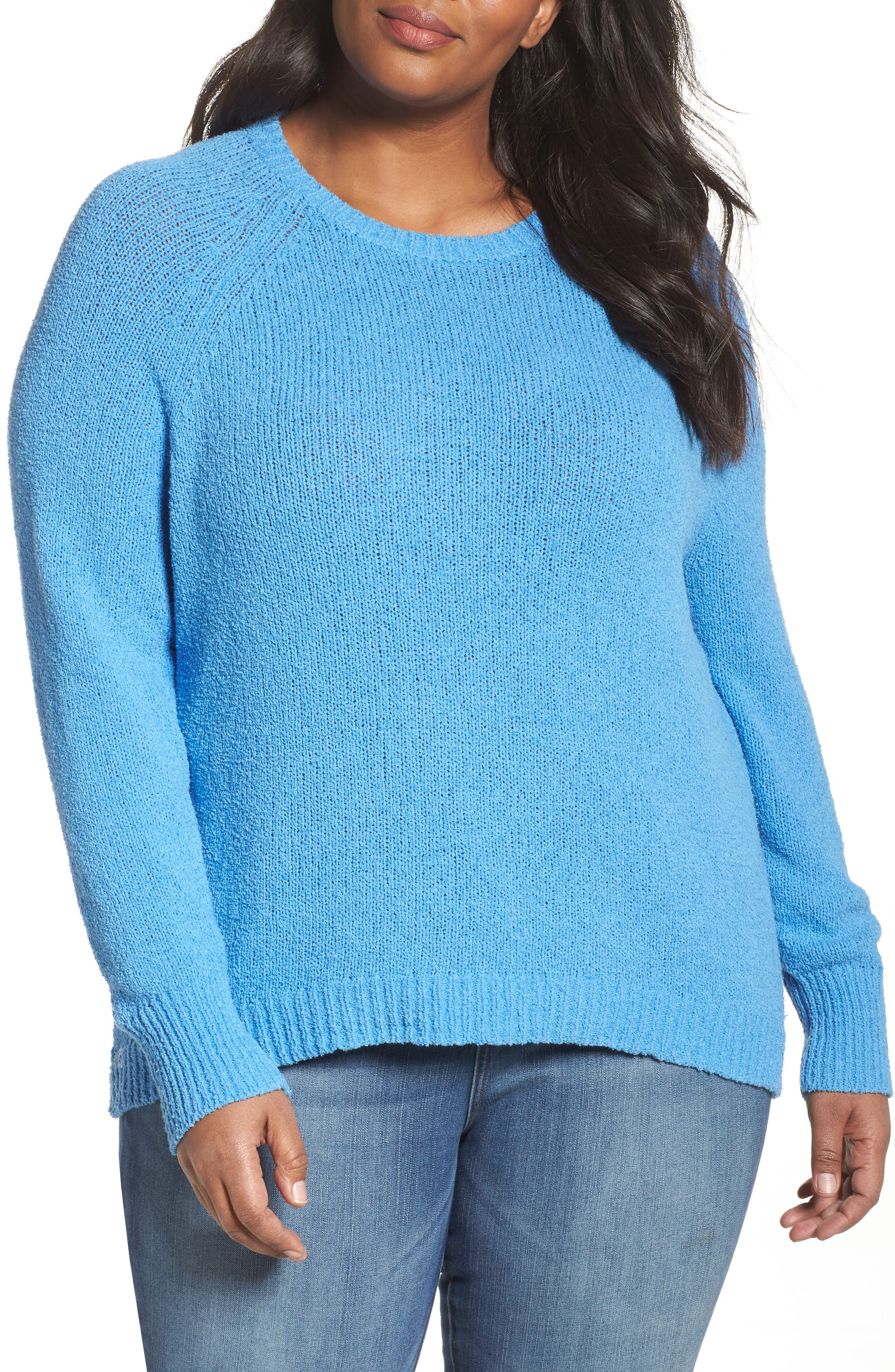 Relaxed Crewneck Sweater,                             Main thumbnail 3, color,