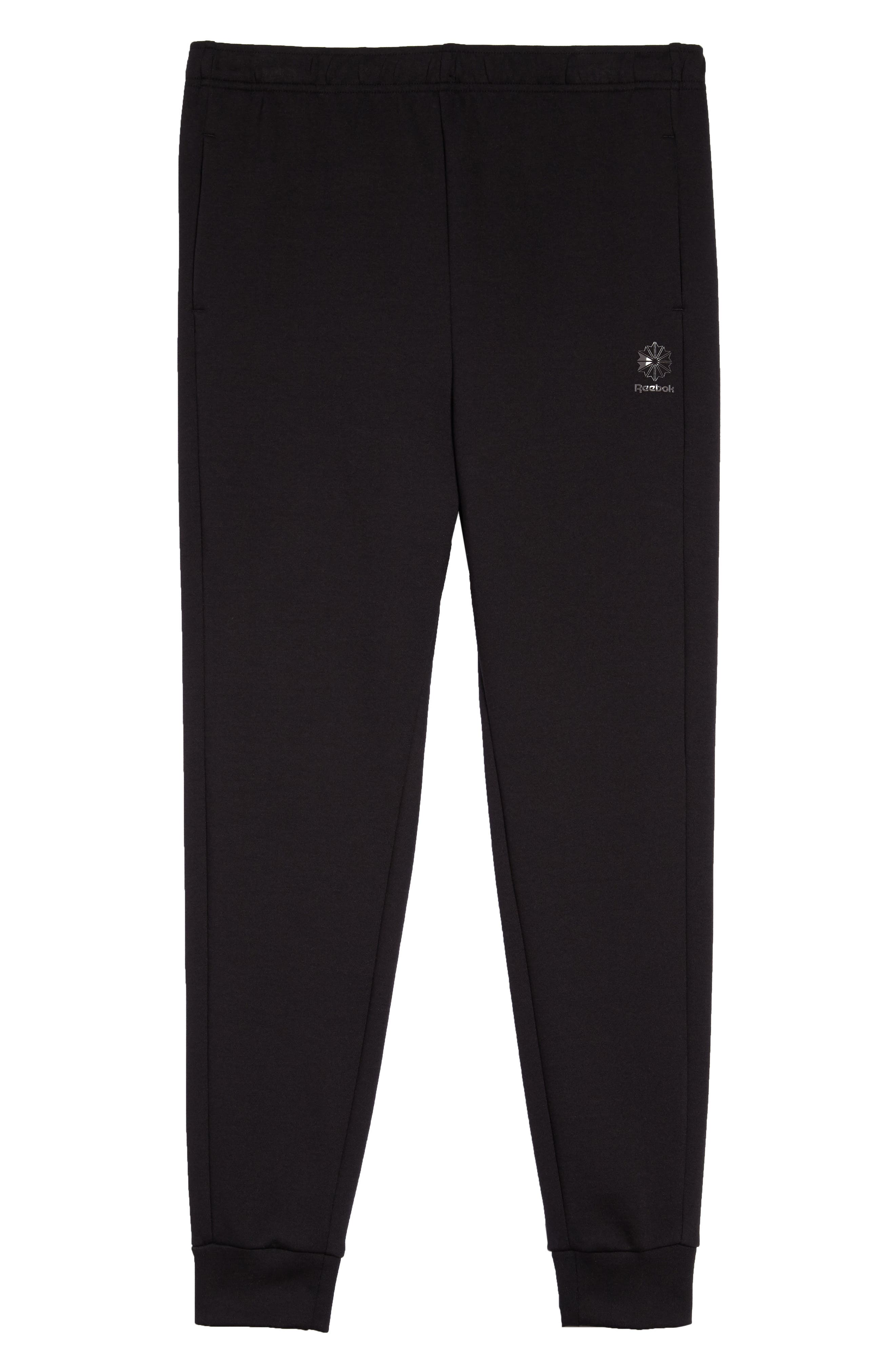 Classic Dynamic Knit Jogger Pants,                             Alternate thumbnail 6, color,                             005