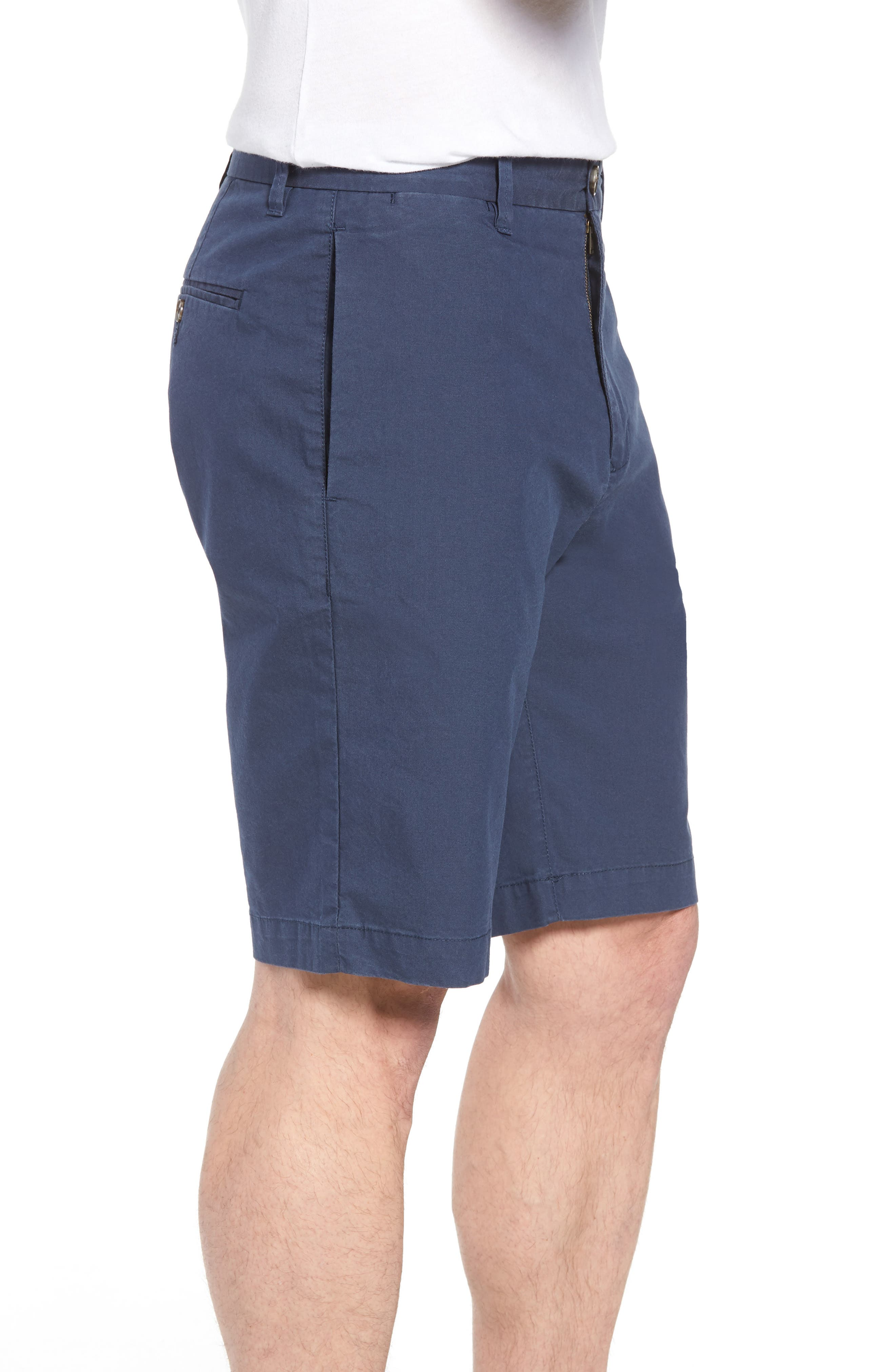 Broadway Regular Fit Chino Shorts,                             Alternate thumbnail 3, color,                             413