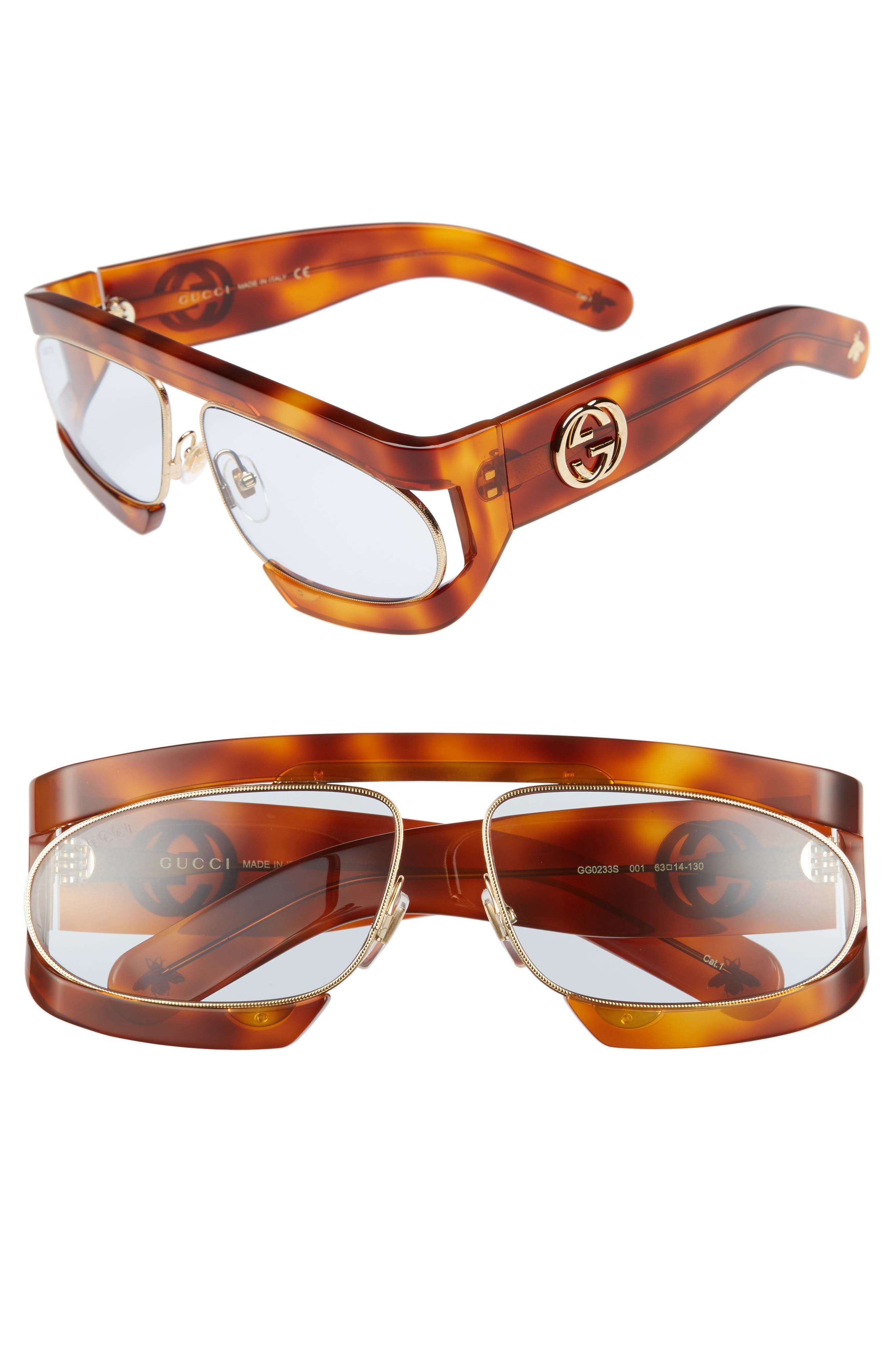 63mm Shield Glasses,                             Main thumbnail 1, color,                             200