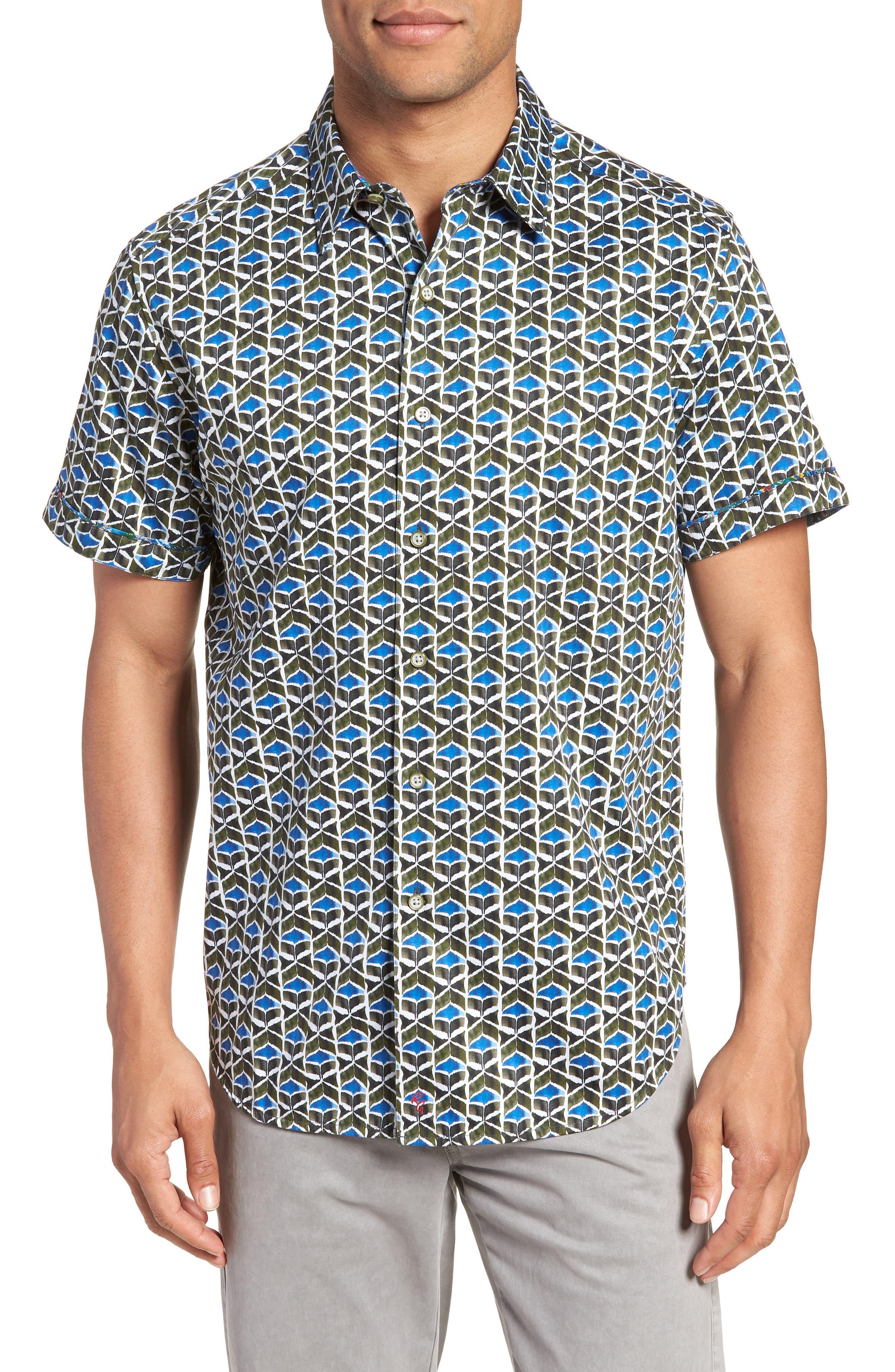 Tames Classic Fit Sport Shirt,                         Main,                         color, 300