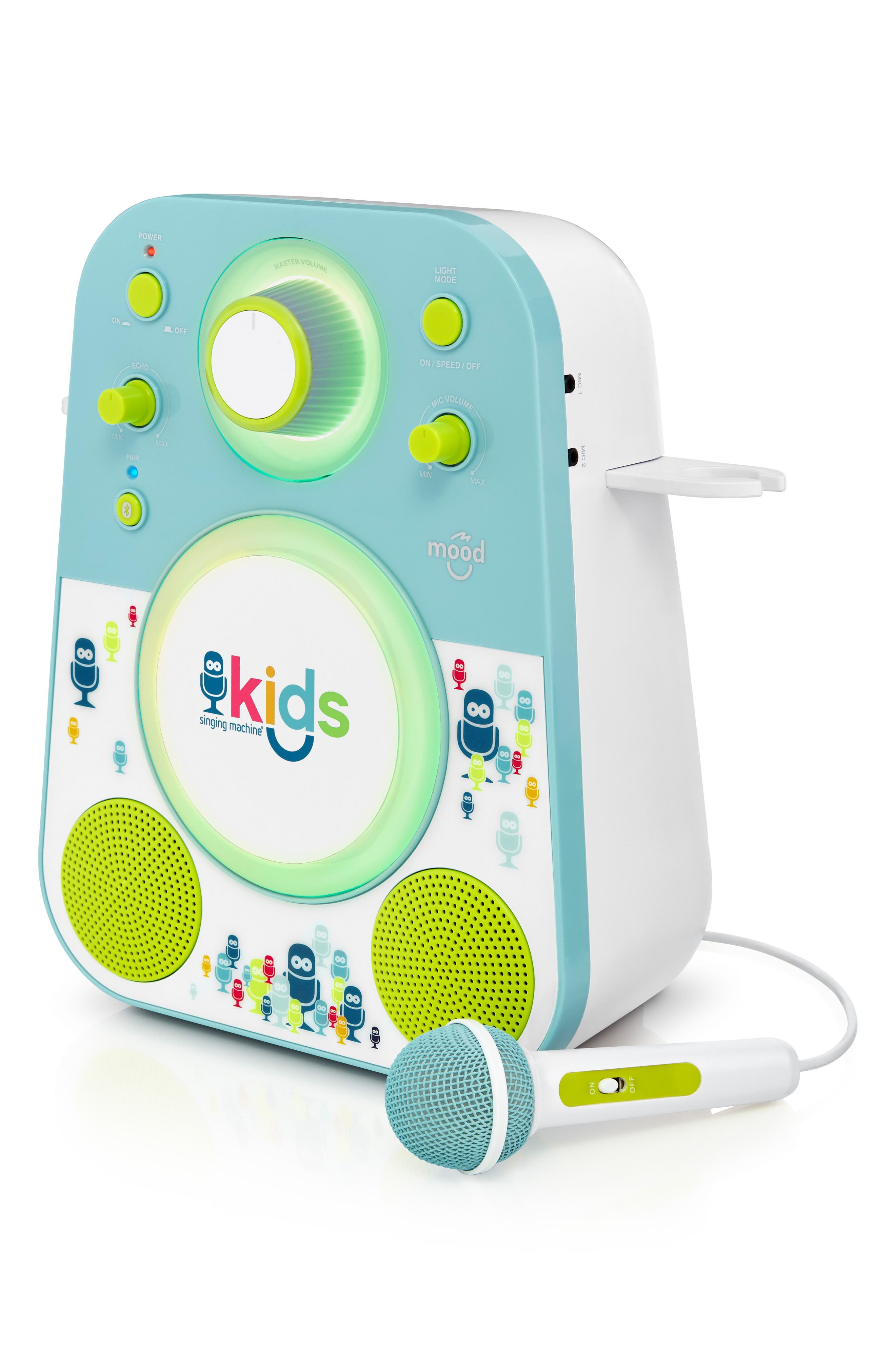 Kids Mood Karaoke System,                             Alternate thumbnail 4, color,                             BLUE GREEN