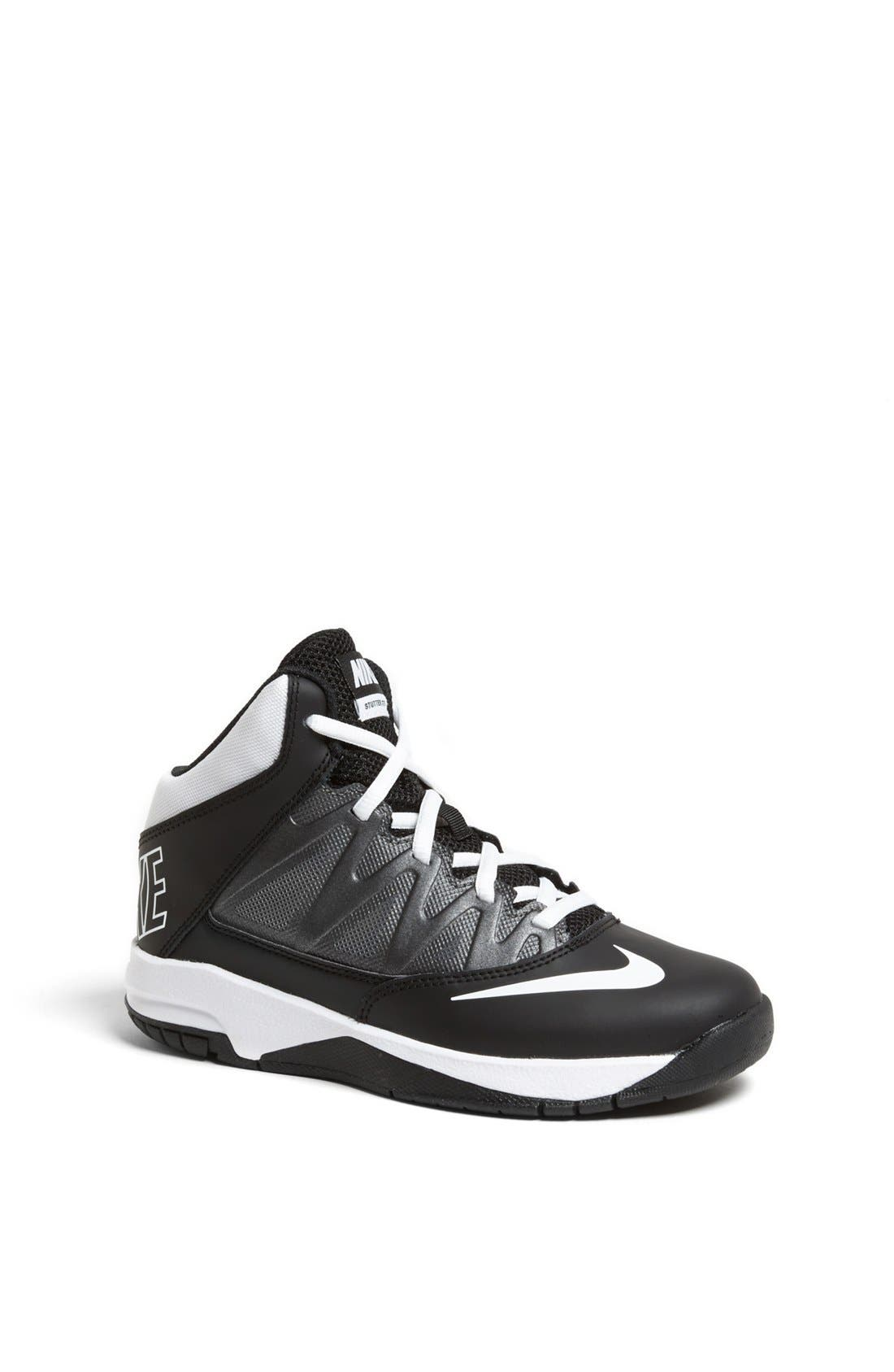 'Stutter Step' Basketball Shoe,                             Main thumbnail 1, color,                             001