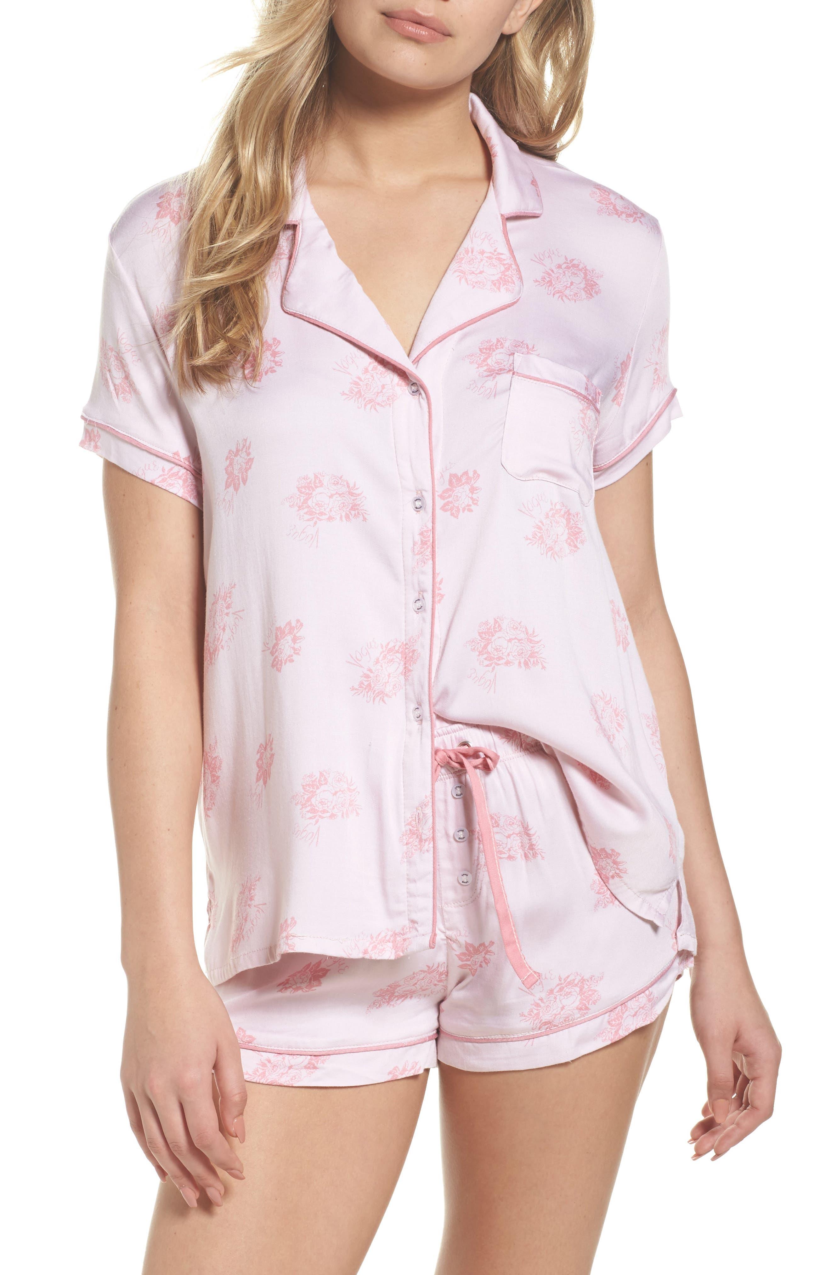 Shortie Pajamas,                             Main thumbnail 2, color,