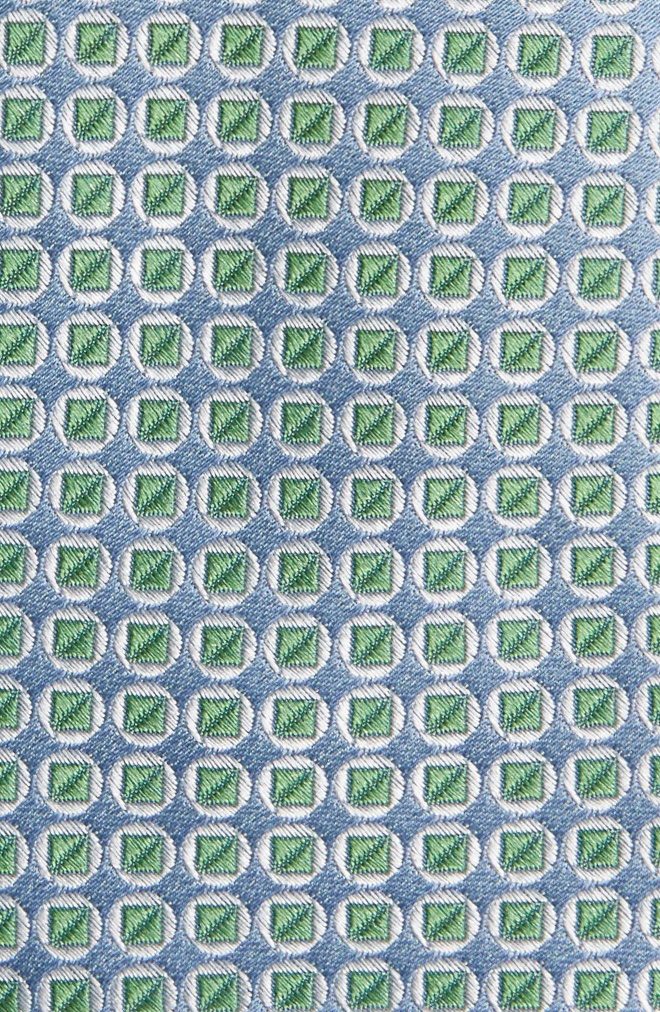 Circle Square Silk Tie,                             Alternate thumbnail 2, color,                             300