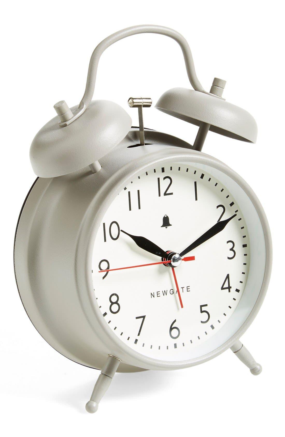 'New Convent Garden' Alarm Clock, Main, color, 020