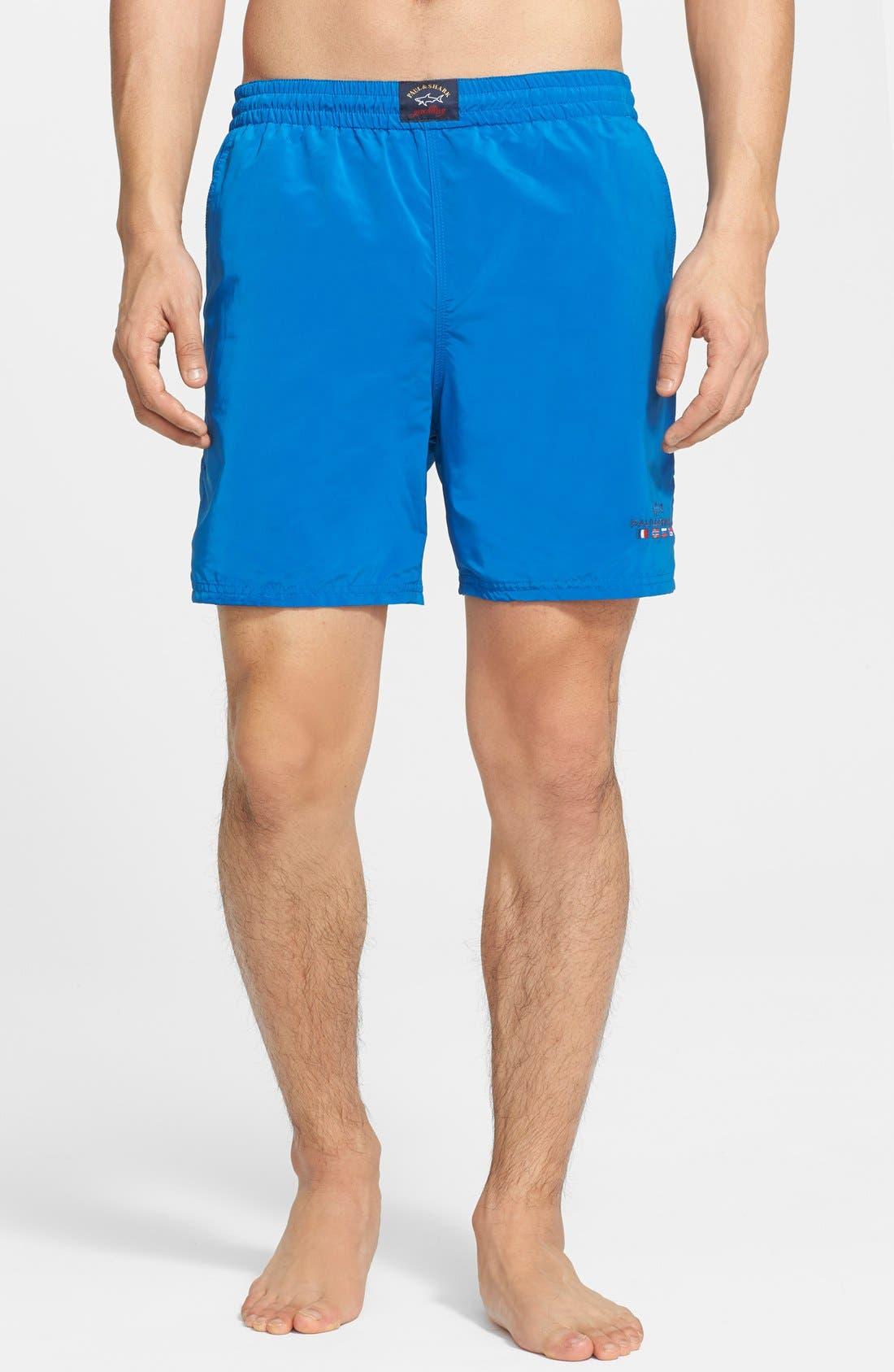 PAUL & SHARK Swim Trunks, Main, color, 420