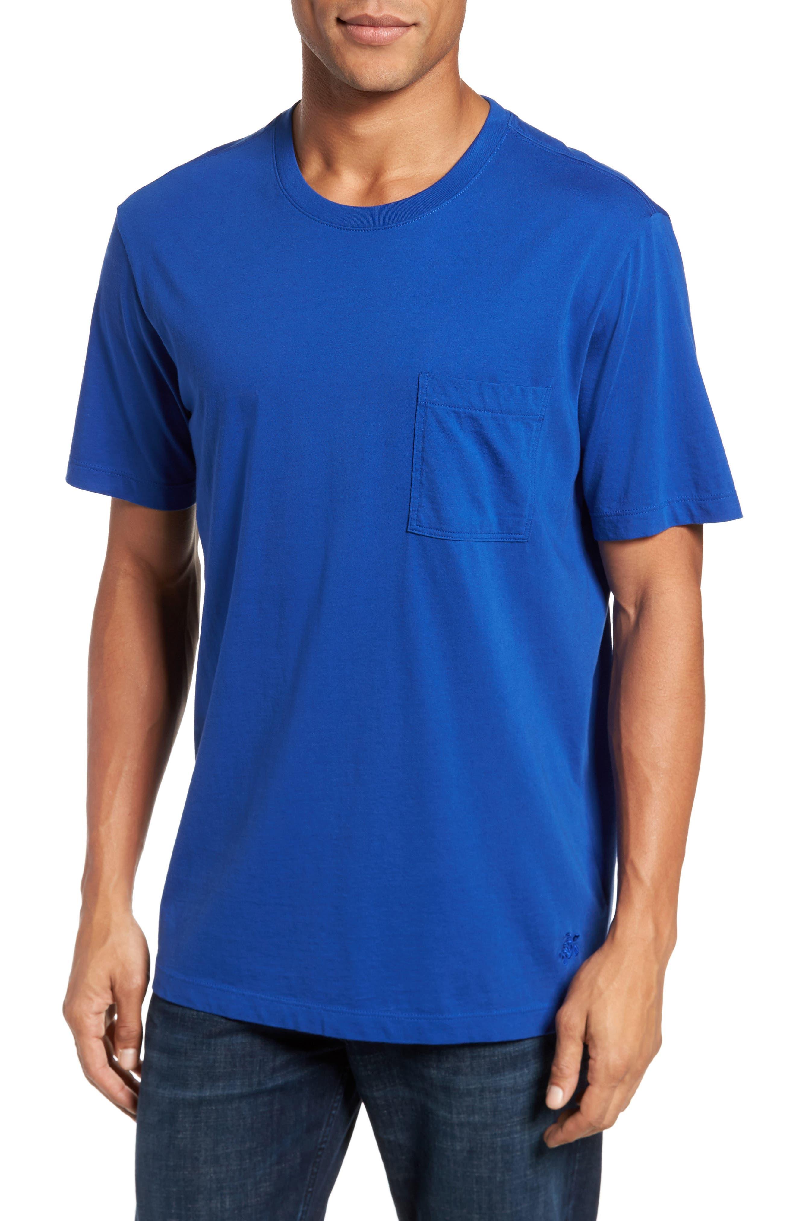 Classic Fit Pocket T-Shirt,                         Main,                         color, 413