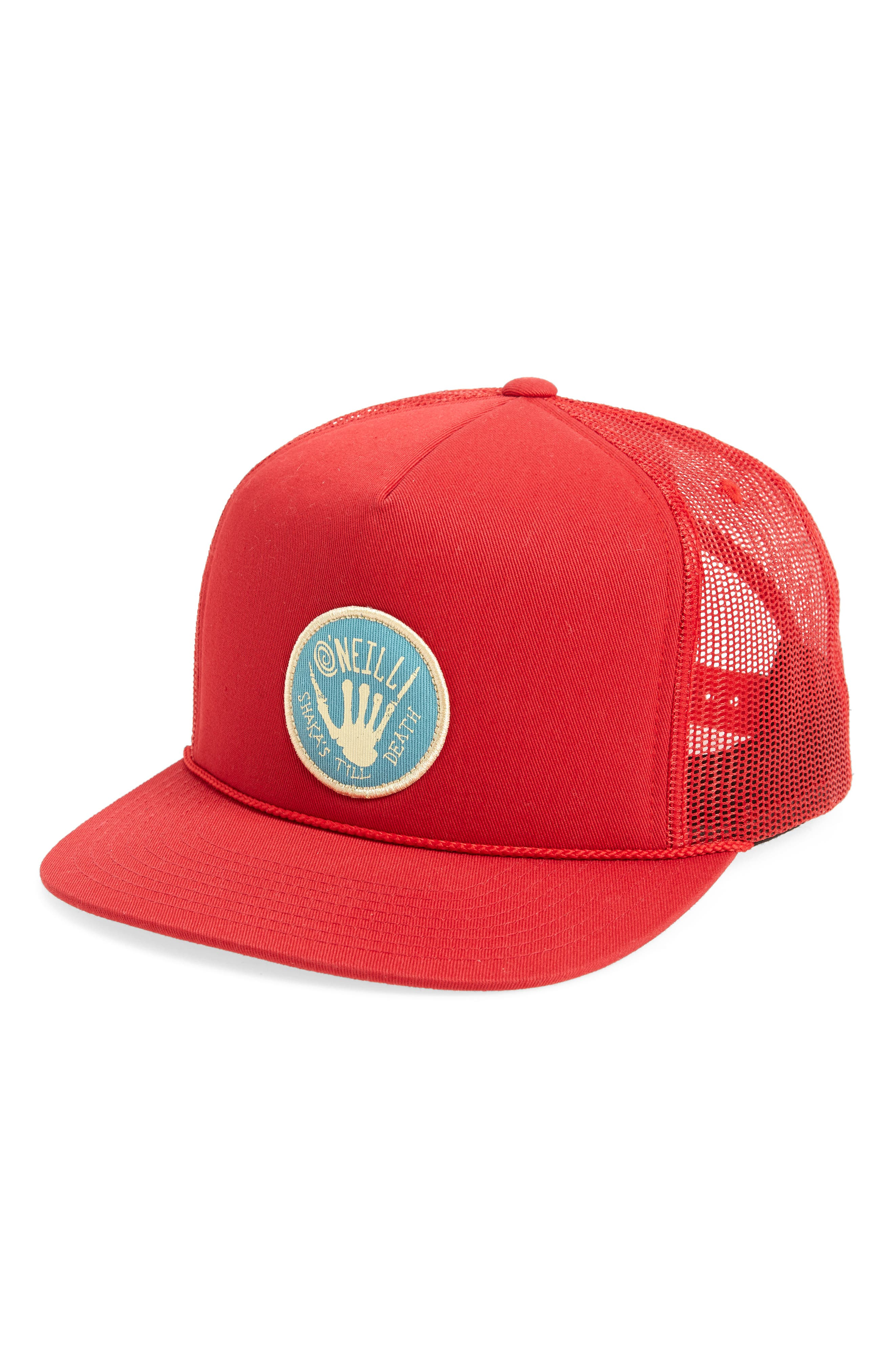 Shaka till Death Trucker Hat,                             Main thumbnail 1, color,                             600