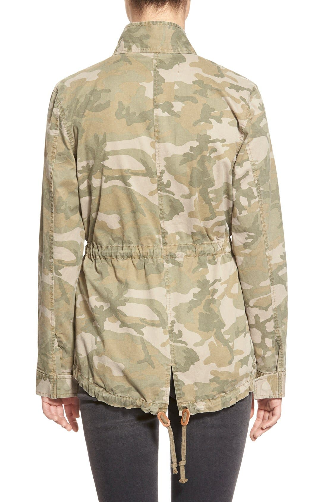 Treasure&Bond Camo Print Field Jacket,                             Alternate thumbnail 3, color,                             300