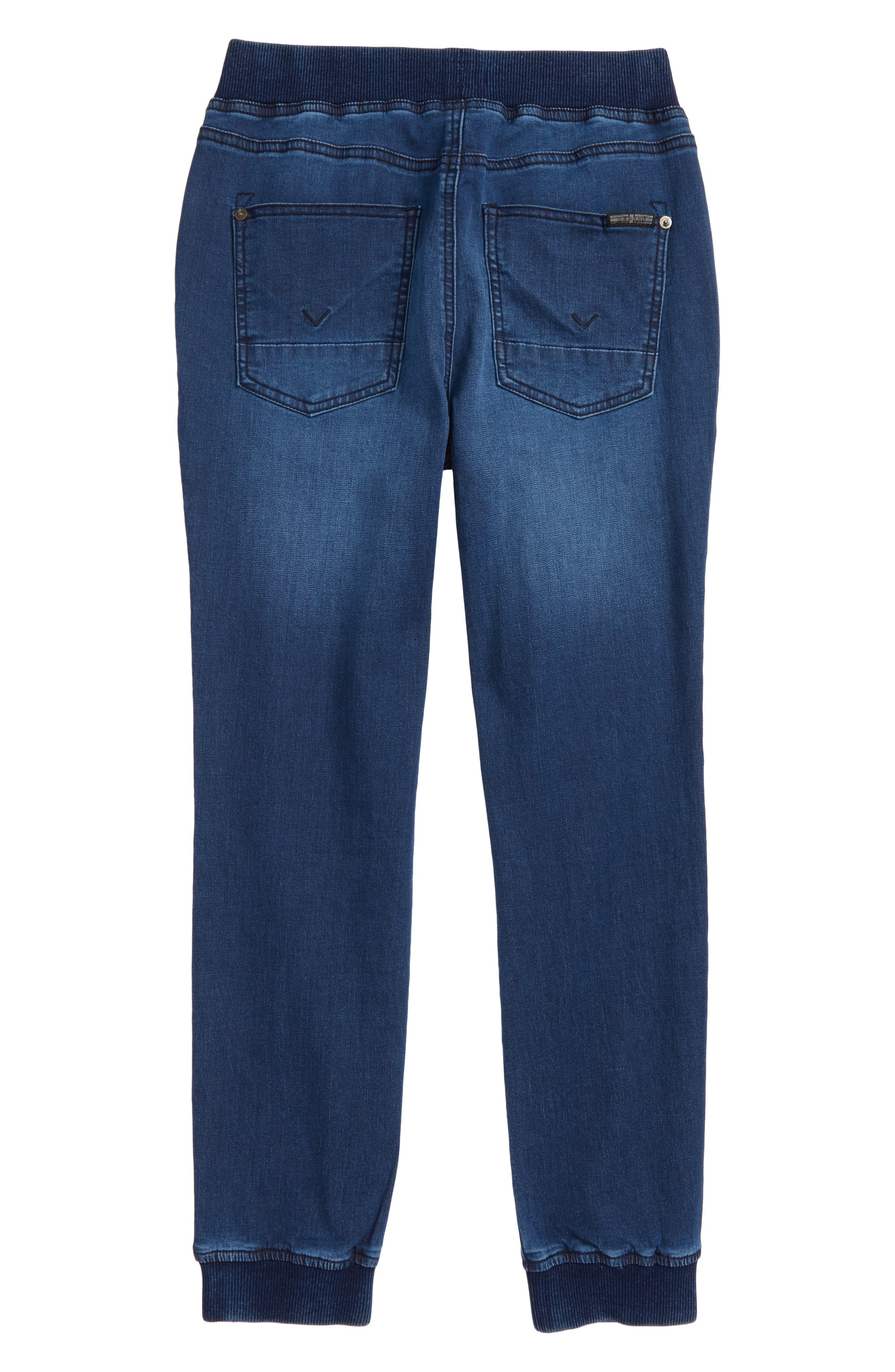 Nate Denim Jogger Pants,                             Alternate thumbnail 2, color,                             470