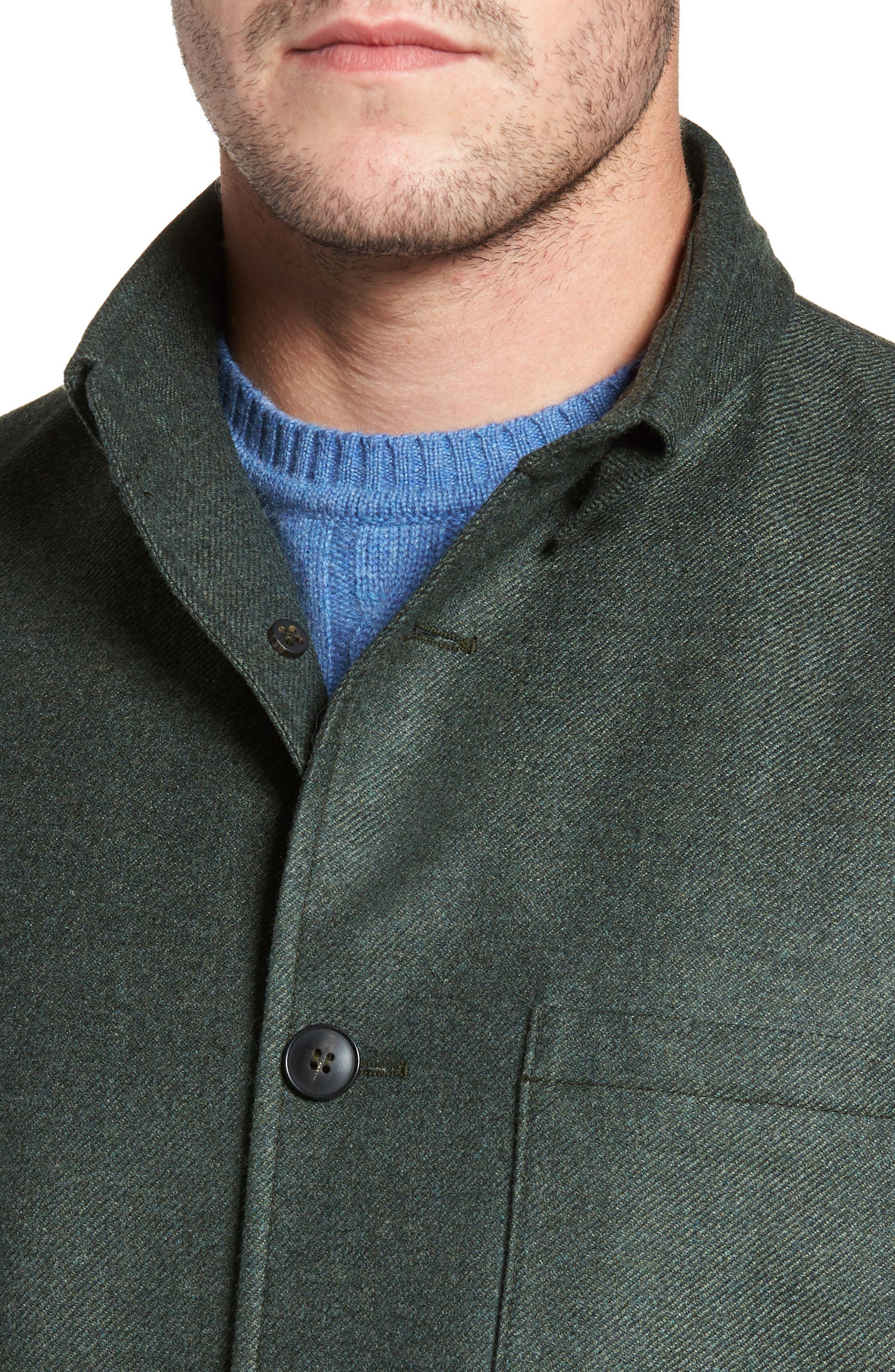 Loro Piana Storm System Shirt Jacket,                             Alternate thumbnail 18, color,
