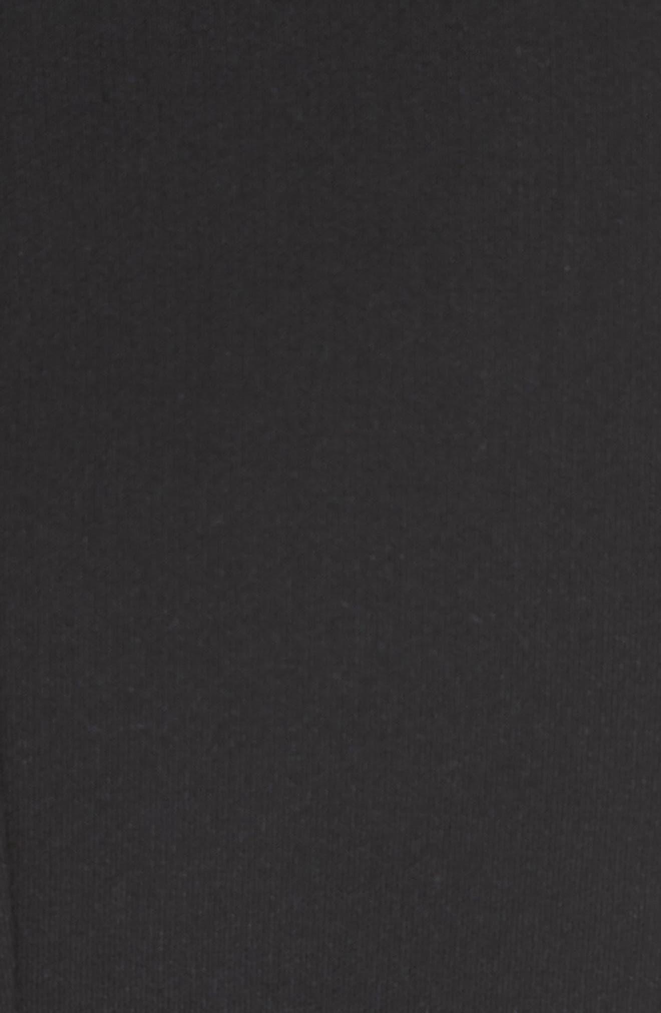 Tristen Strapless Dress,                             Alternate thumbnail 5, color,                             001