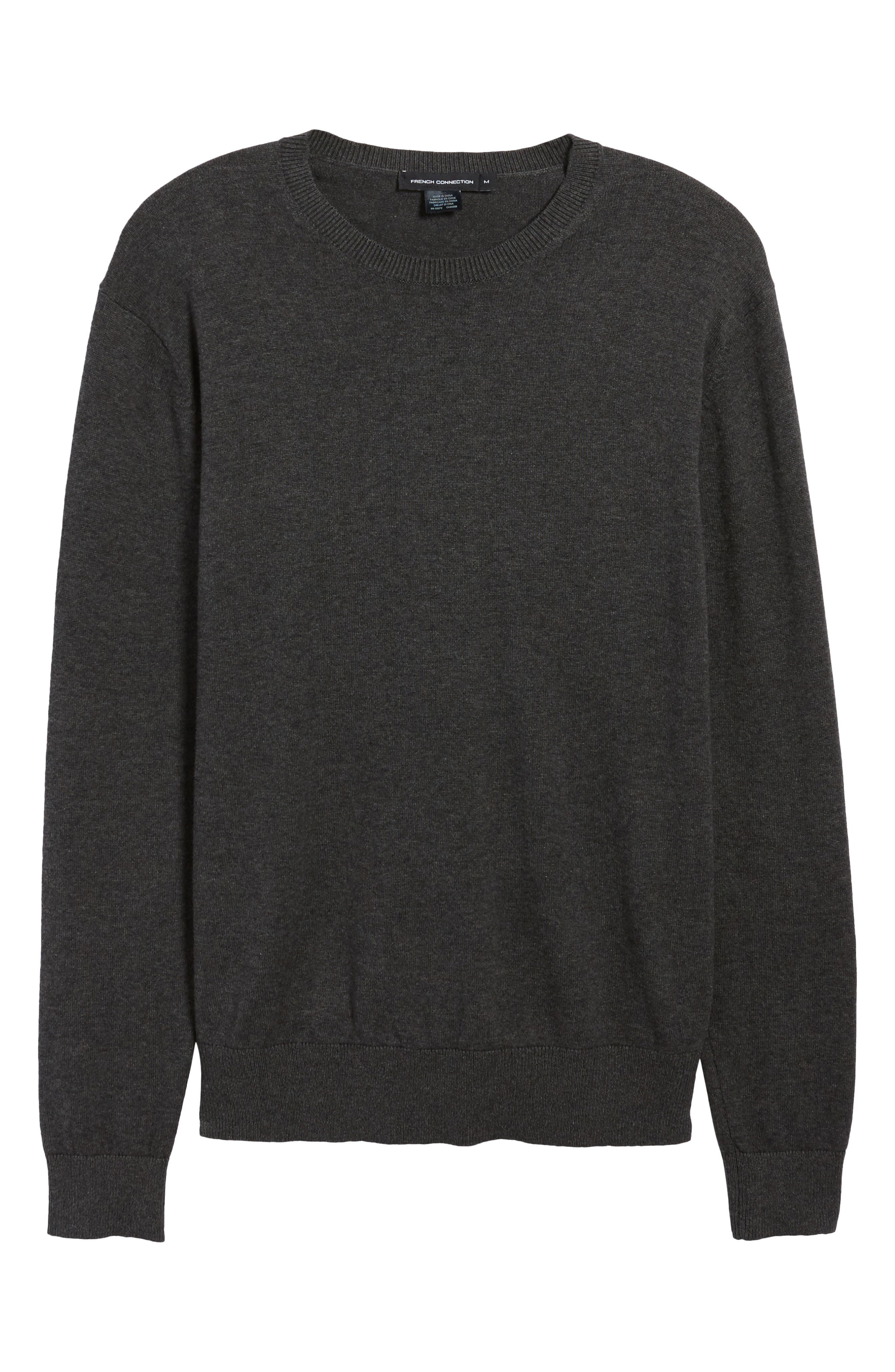 Portrait Crewneck Sweater,                             Alternate thumbnail 6, color,                             015