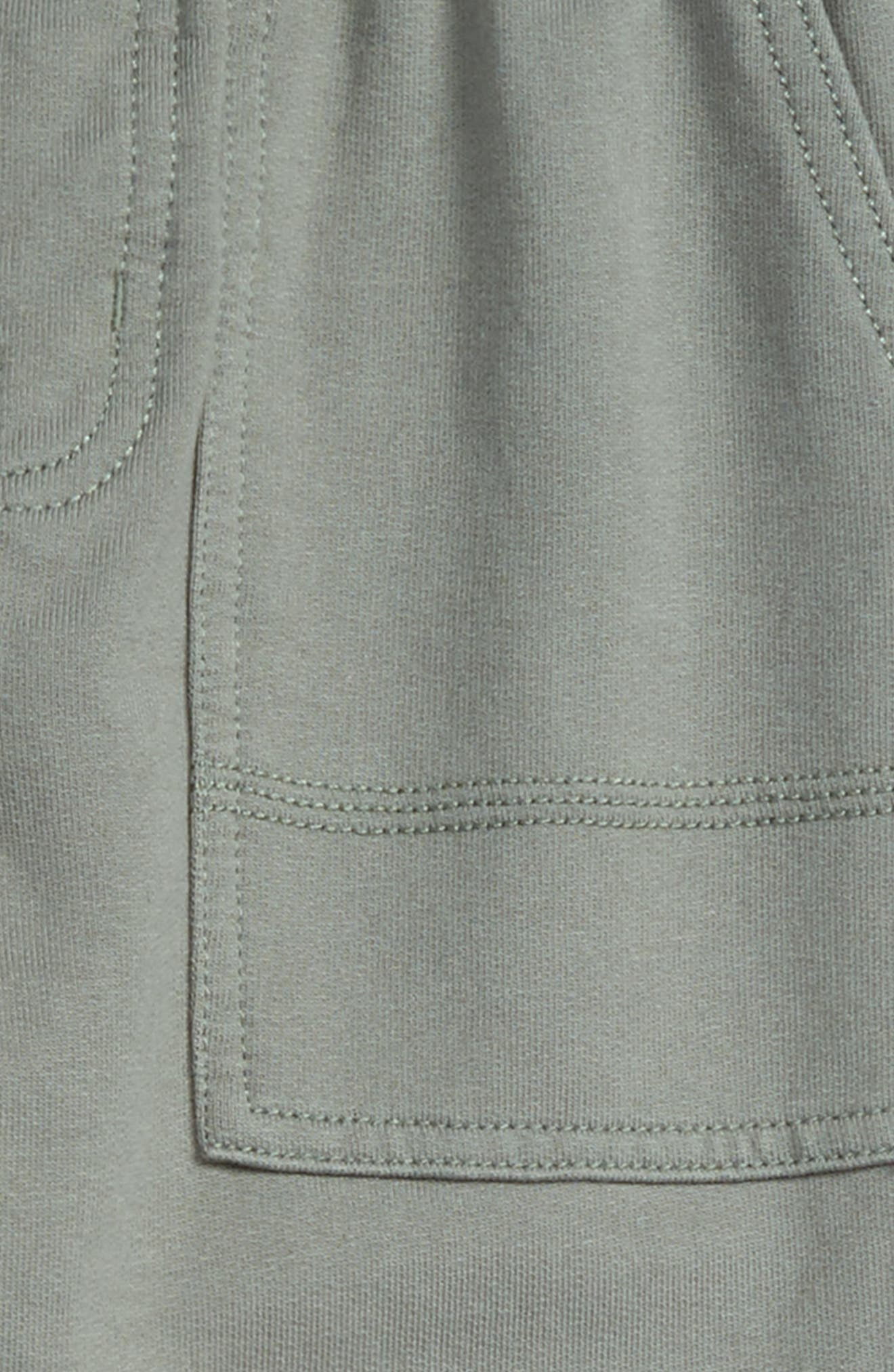 French Terry Pants,                             Alternate thumbnail 3, color,                             OLIVE DRAB
